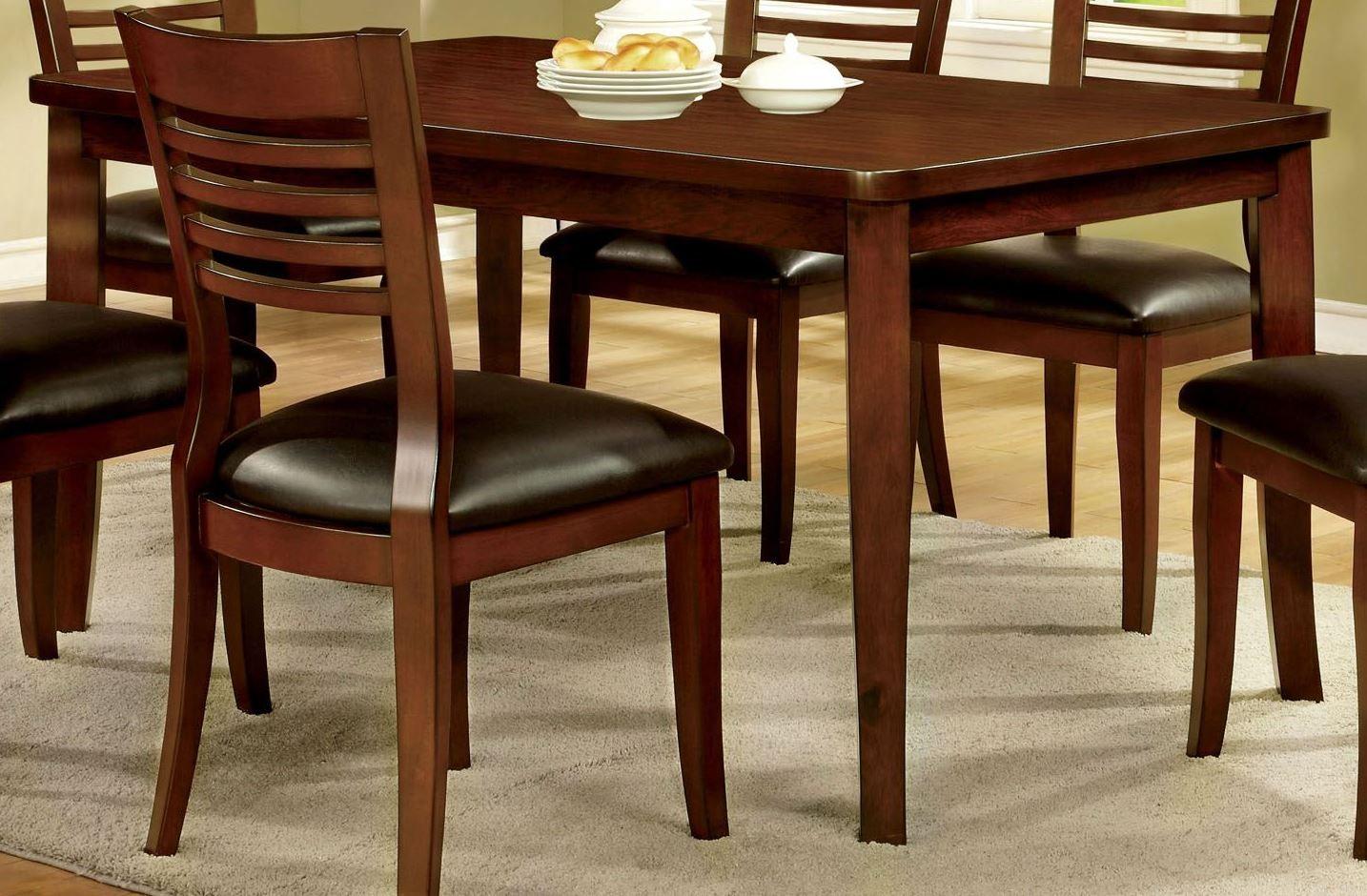 dwight i medium oak dining room set from furniture of america cm3988t coleman furniture. Black Bedroom Furniture Sets. Home Design Ideas