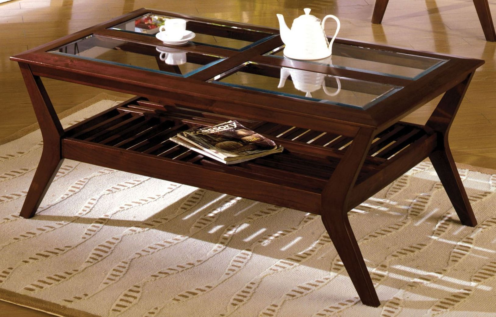 Virginia Beach Coffee Table From Furniture Of America Cm4664c Coleman Furniture