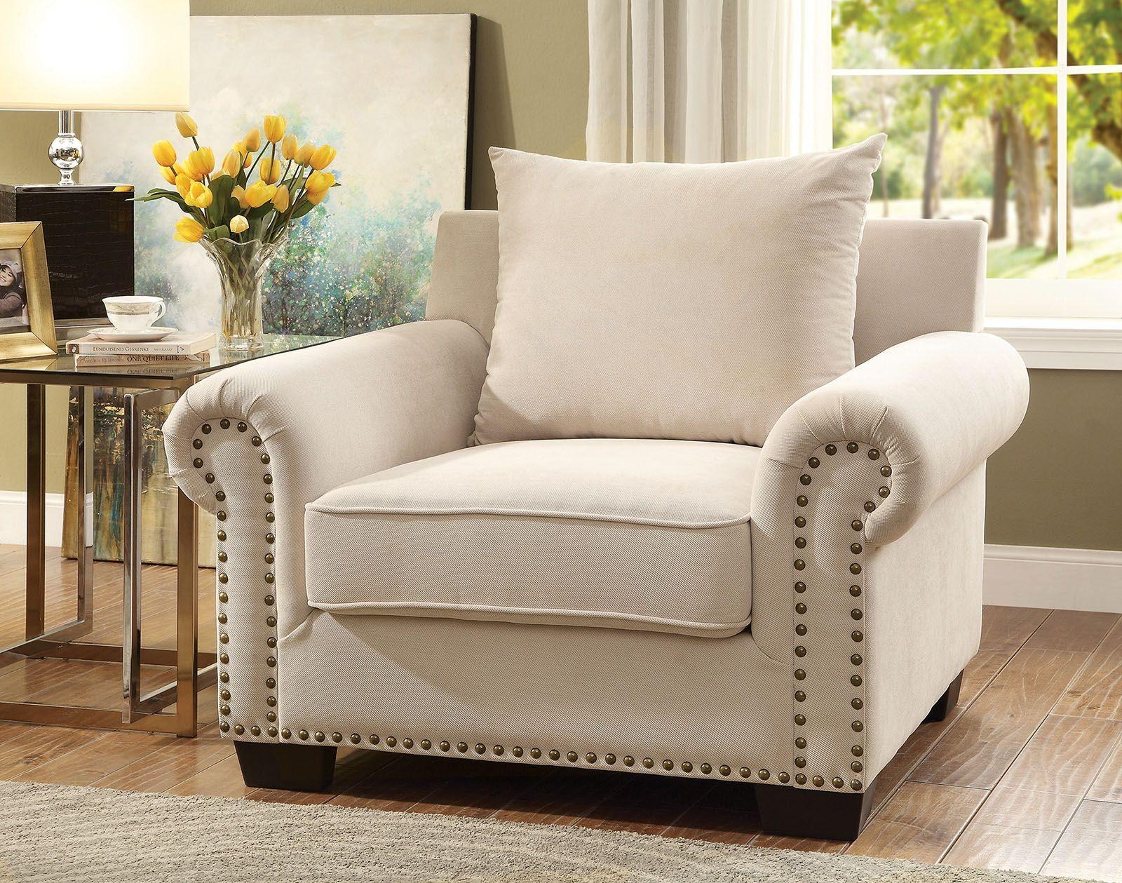 skyler ivory living room set cm6155 sf furniture of america. Black Bedroom Furniture Sets. Home Design Ideas