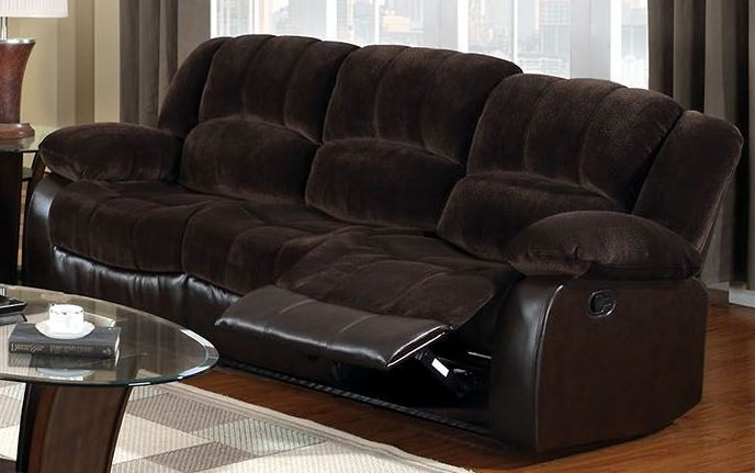 Winchester Brown Champion Reclining Sofa Cm6556cp S