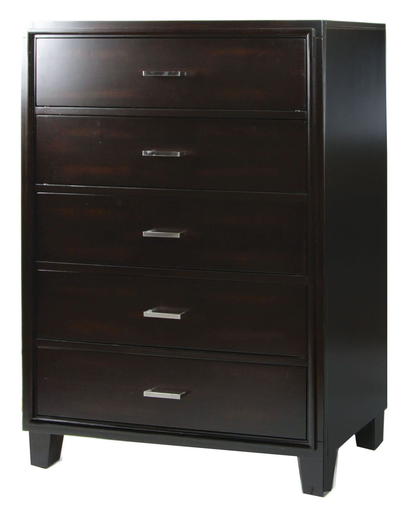 Gerico I Dark Espresso Bedroom Set from Furniture of America CM7290EX Q BED