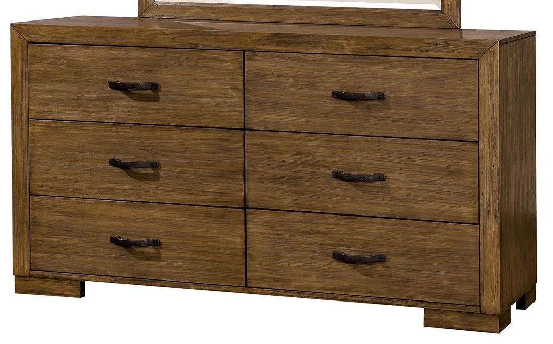 bairro reclaimed pine wood bedroom set cm7250q furniture of america