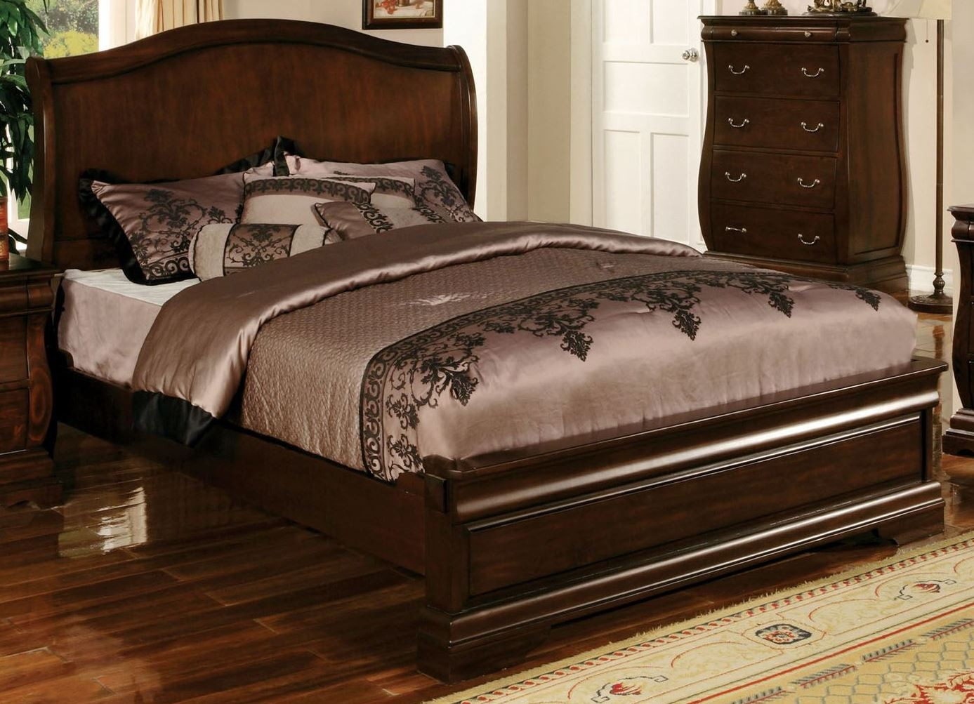 ... King Bed from Furniture of America (CM7503EK-BED) | Coleman Furniture