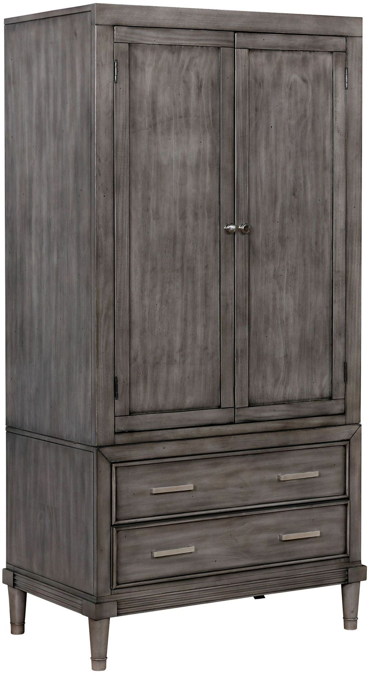 Daphne Gray Armoire, CM7556AR-SET, Furniture of America