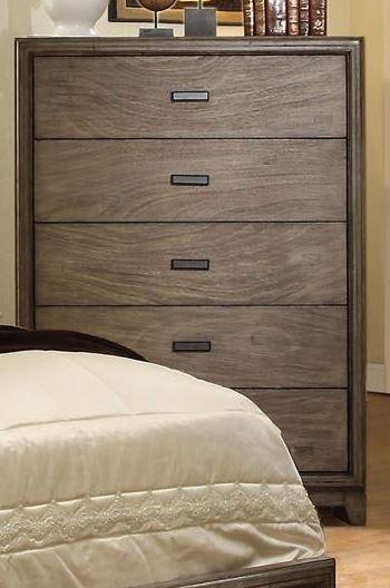 Antler natural ash bedroom set from furniture of america for Ash bedroom furniture