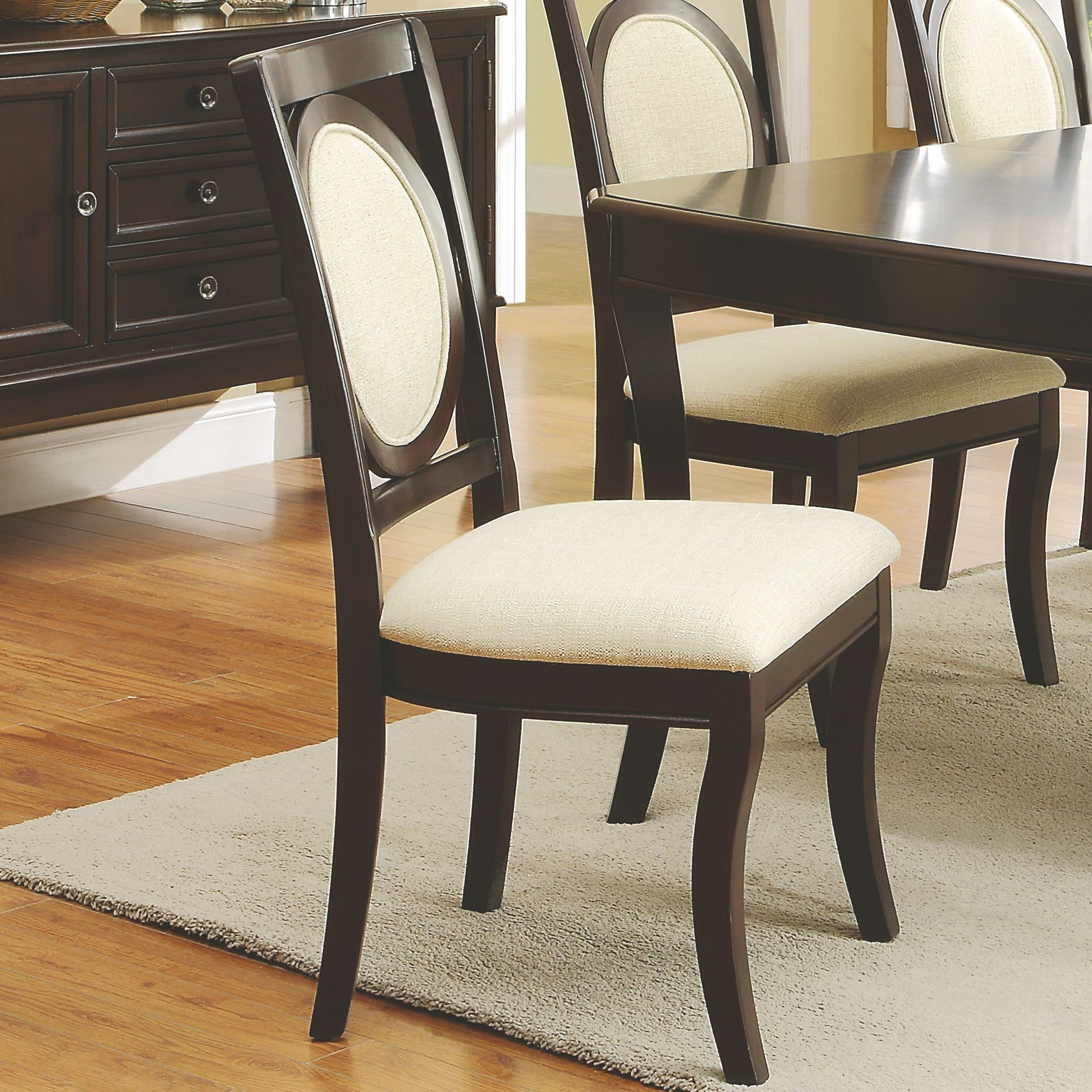 Crest Hill Cherry Brown Rectangular Dining Room Set From Coaster 105671 Coleman Furniture