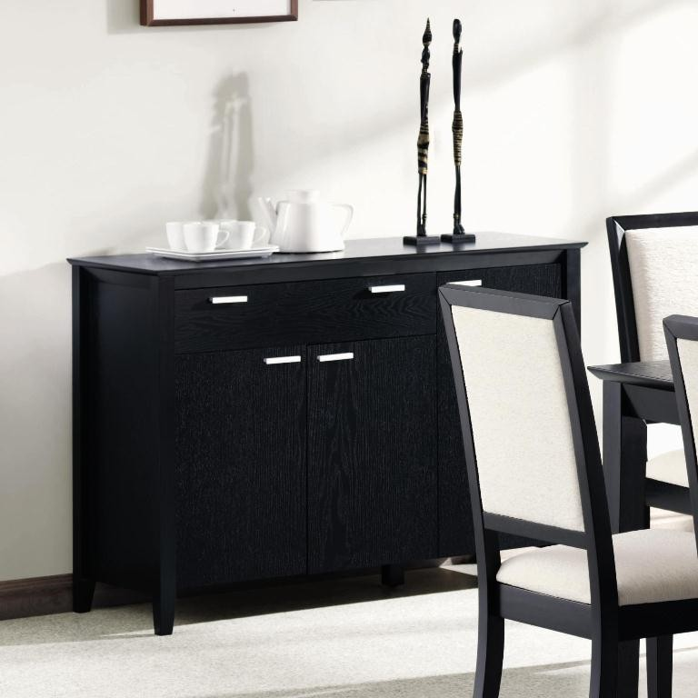 Lexton dining room server 101565 from coaster 101565 coleman furniture - Servers for dining room ...