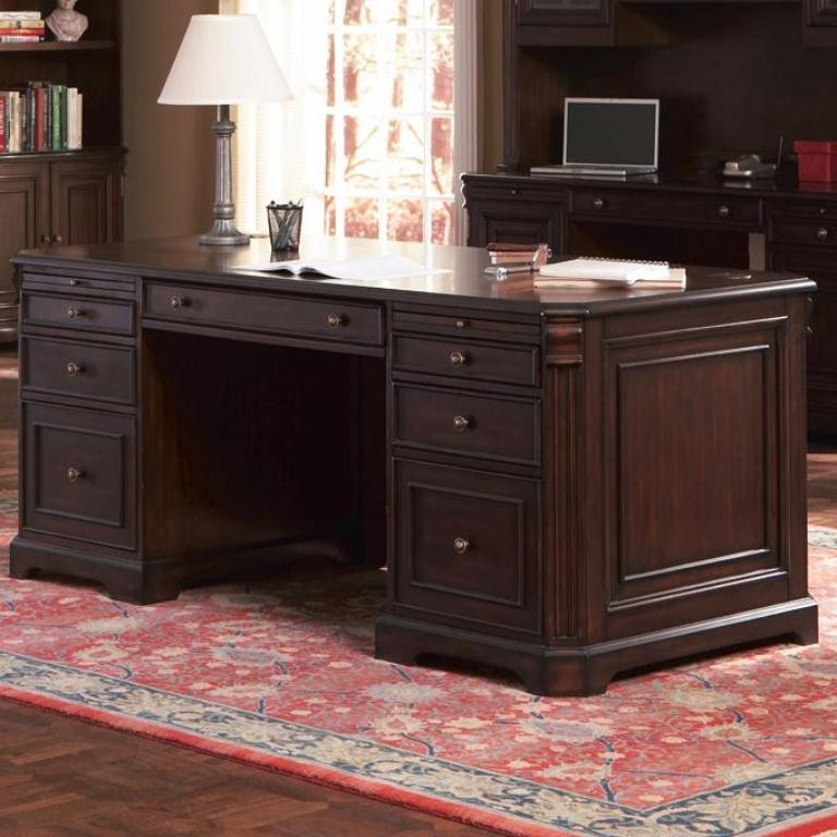 Cherry Valley Home Office Desk 800564 From Coaster