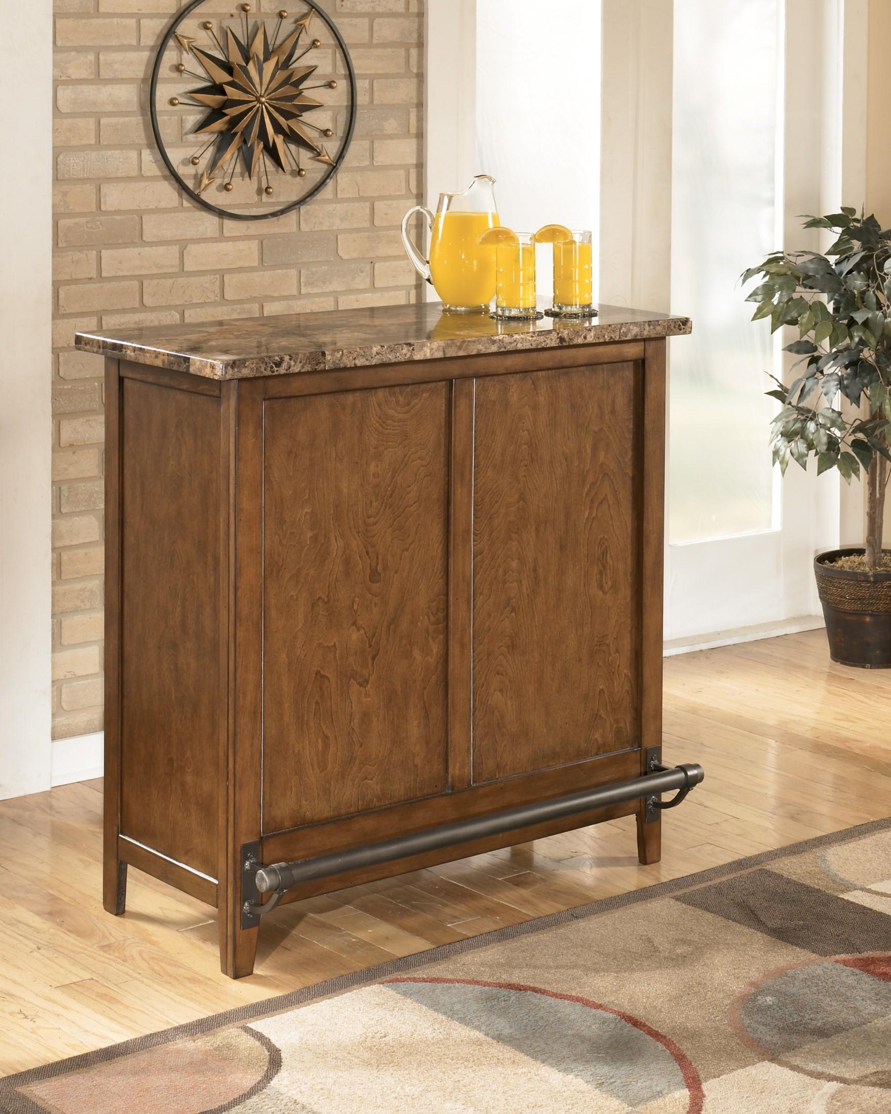 Ashley Furniture Theo Bar D158 65 Home Bars