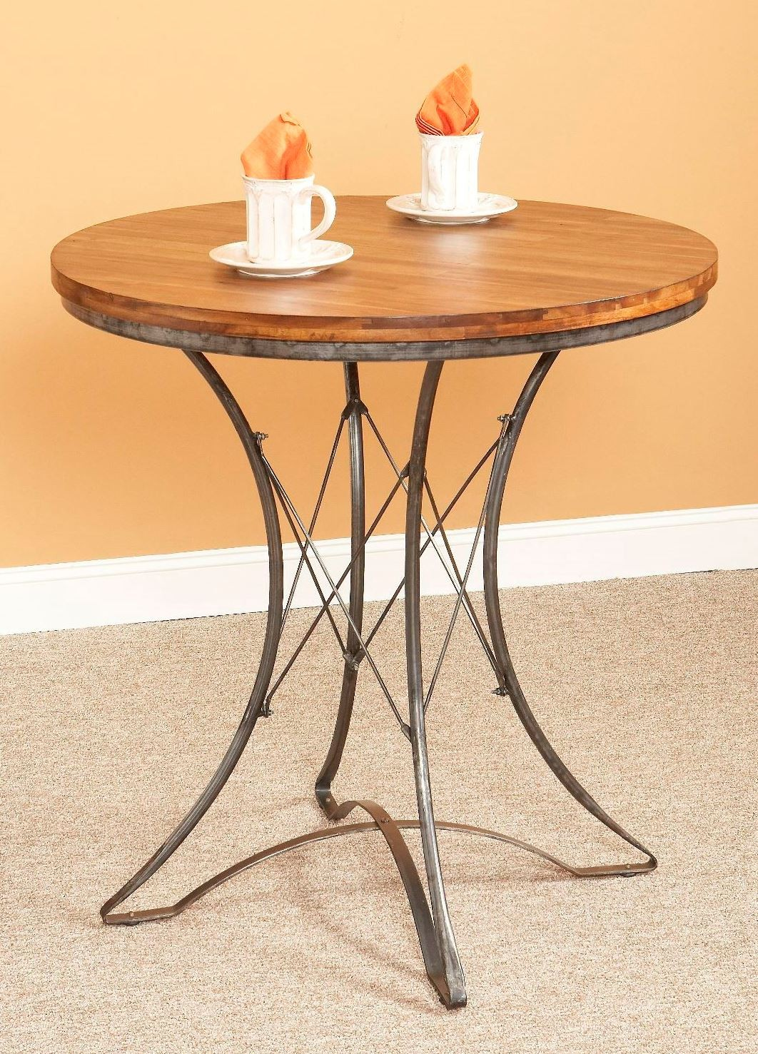 Abbey round pub table from largo d272 38 coleman furniture for Round pub table and chairs