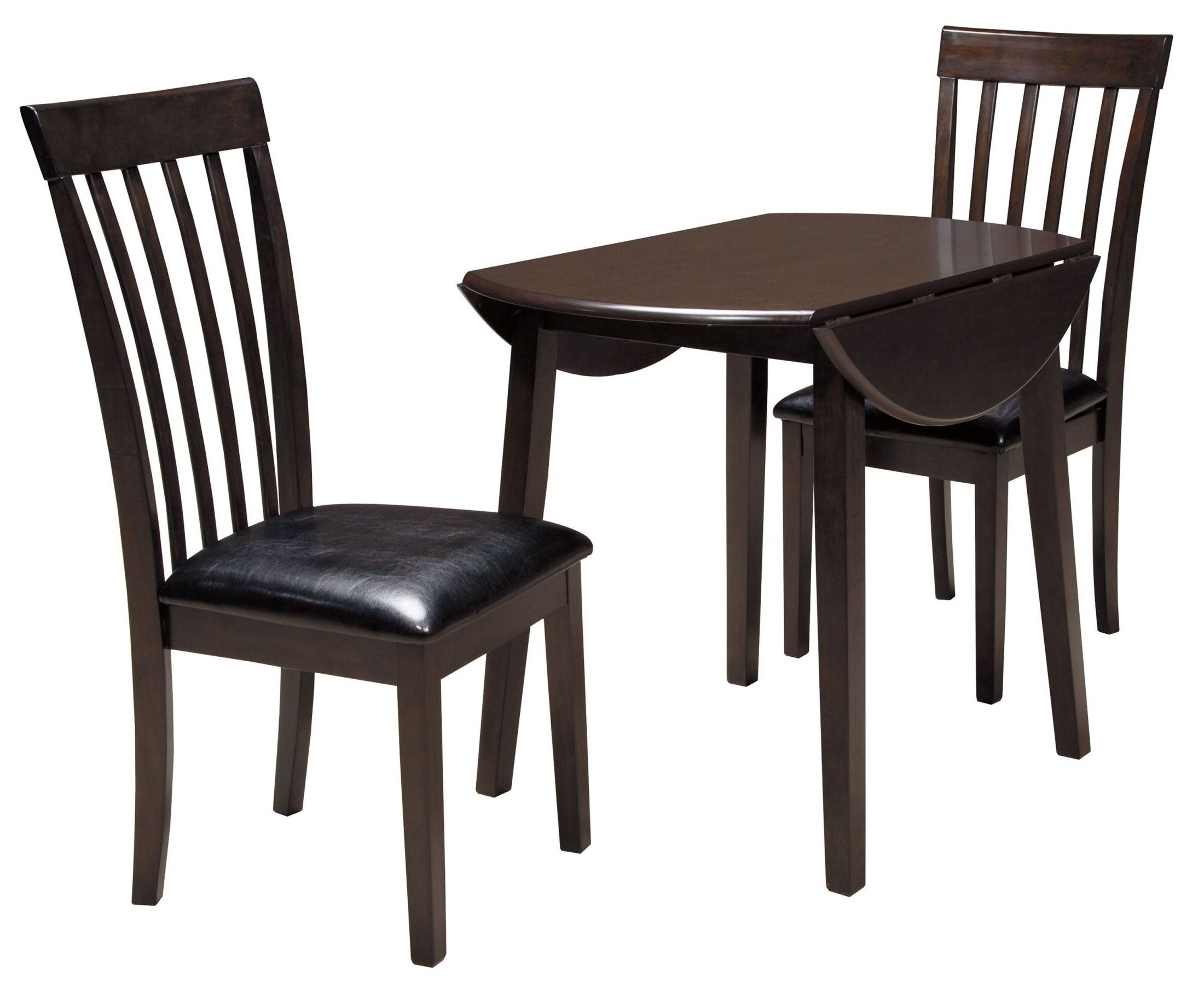 Hammis round drop leaf dining room set from ashley d310 for Round dining set with leaf
