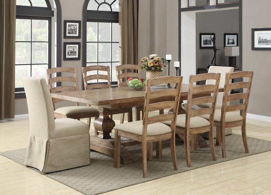 bel air lightly distressed dining room set d311 10 k