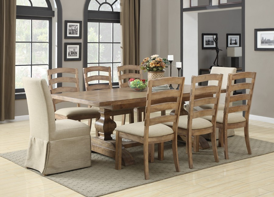 Bel Air Marlow Toast Extendable Dining Table D311 10 K Emerald Home Furnishings