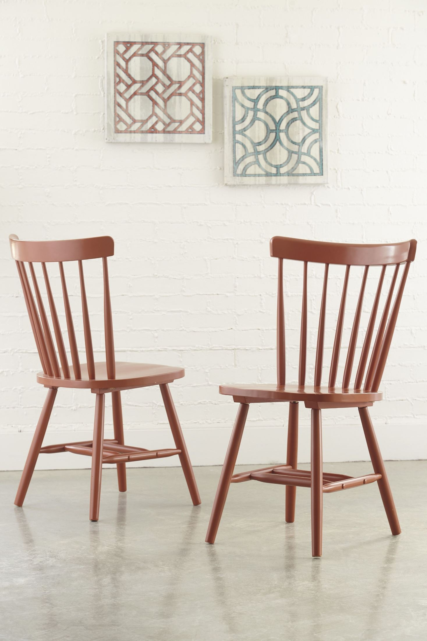 Bantilly Orange Dining Room Chair Set 2 from Ashley