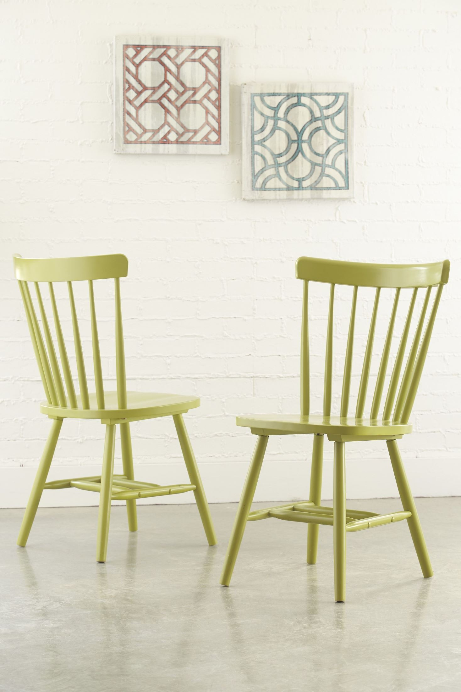 Bantilly Green Dining Room Chair Set 2 from Ashley