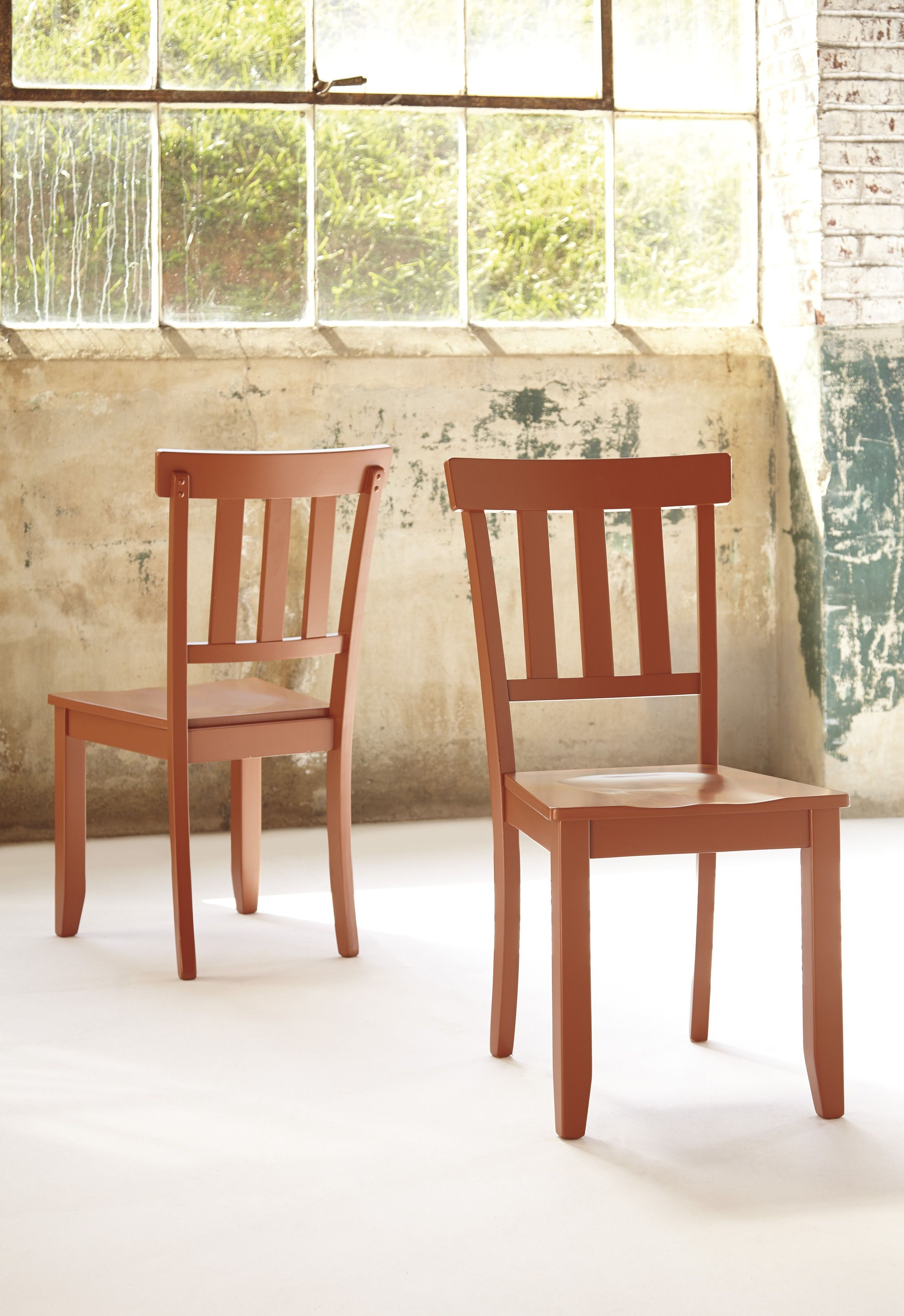 Bantilly Red Dining Room Chair Set Of 2 From Ashley D389 07 Coleman Furni