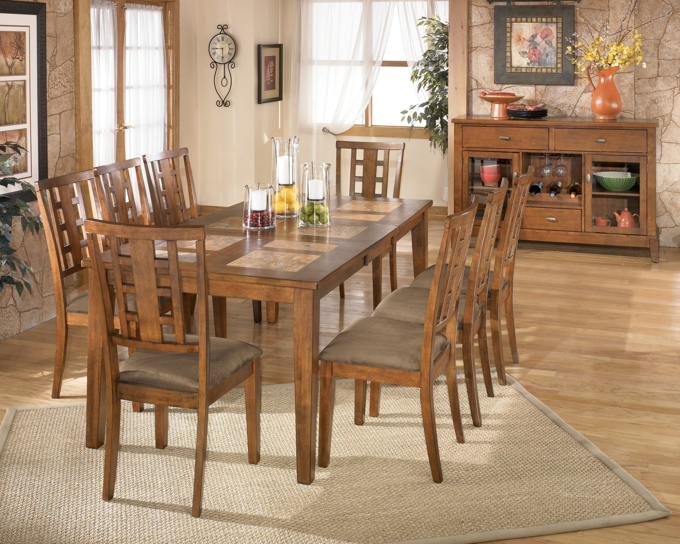 Tucker Dining Room Set By Ashley Furniture D458 Dining Room
