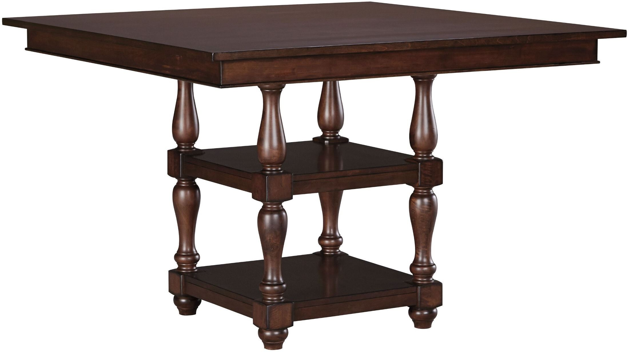 Baxenburg Brown Square Counter Height Dining Table D506 32 Ashley