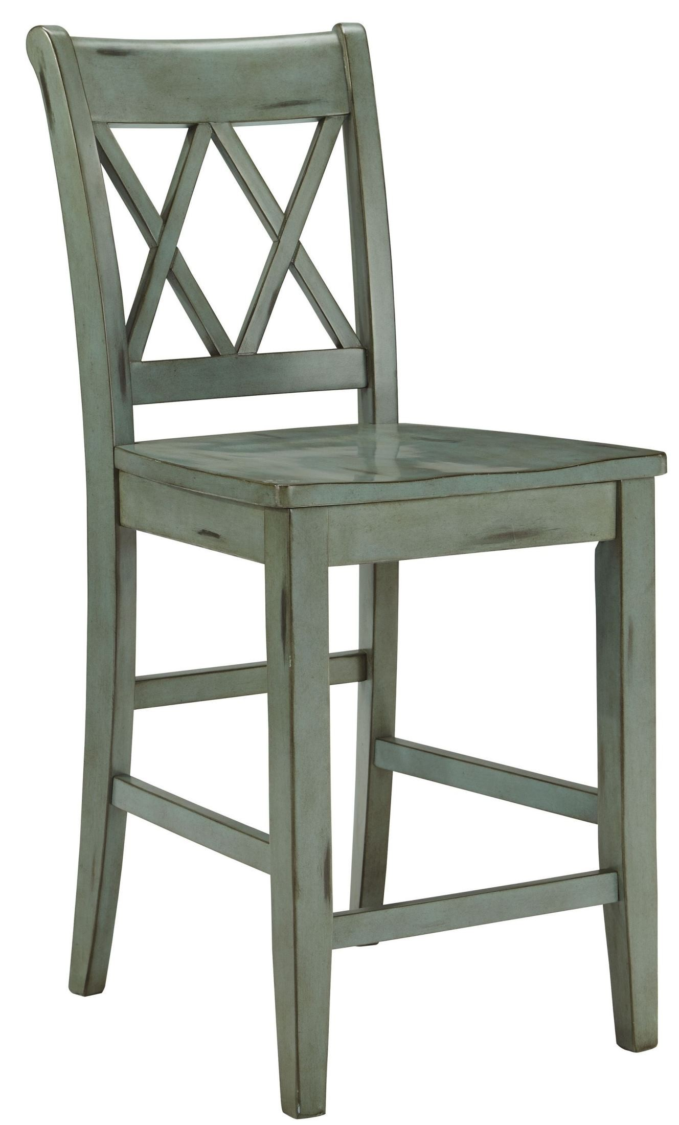 Mestler counter stool set of 2 from ashley d540 124 for Furniture 124