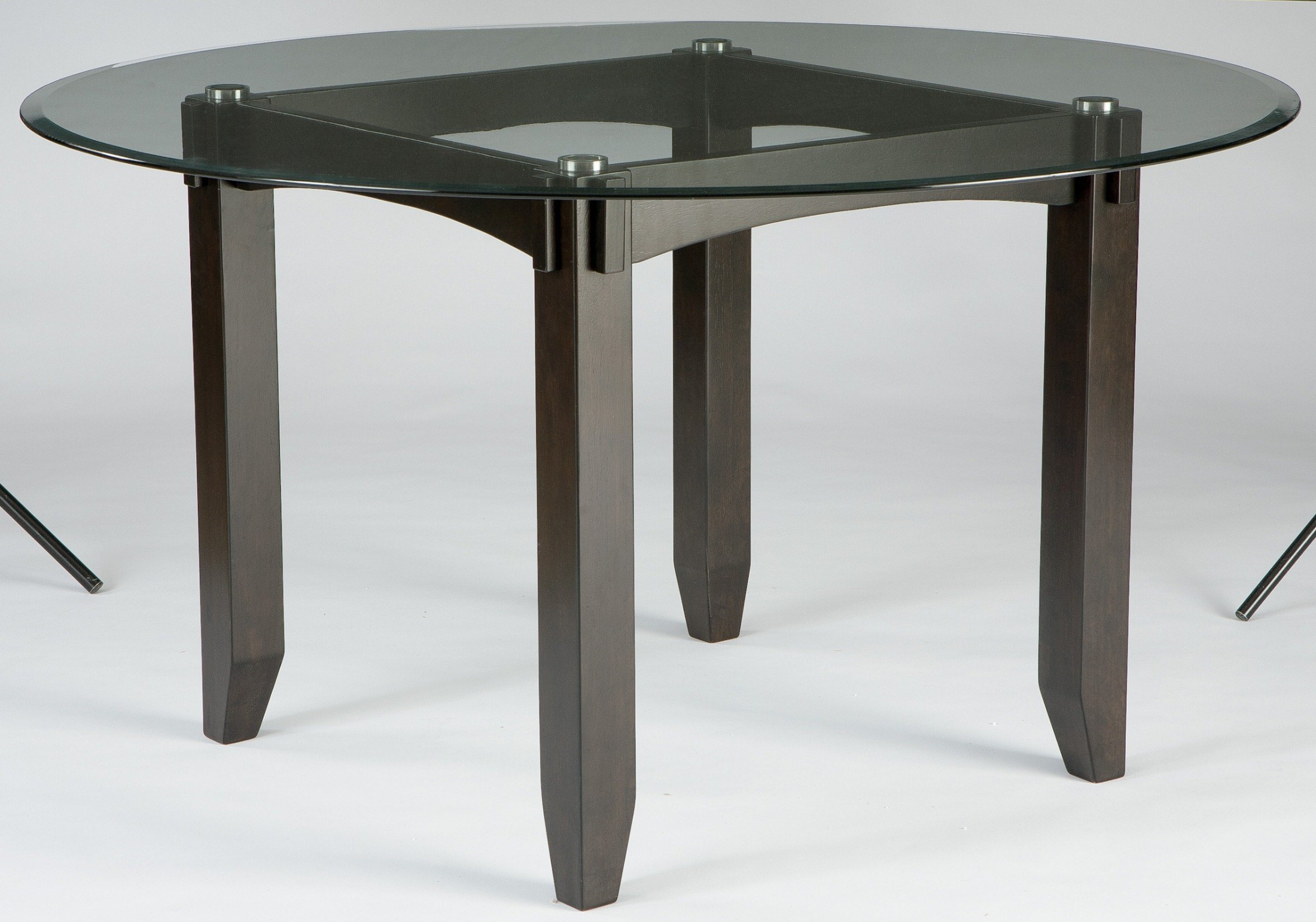 trishelle round dining room table d550 15b d100 50t ashley furniture