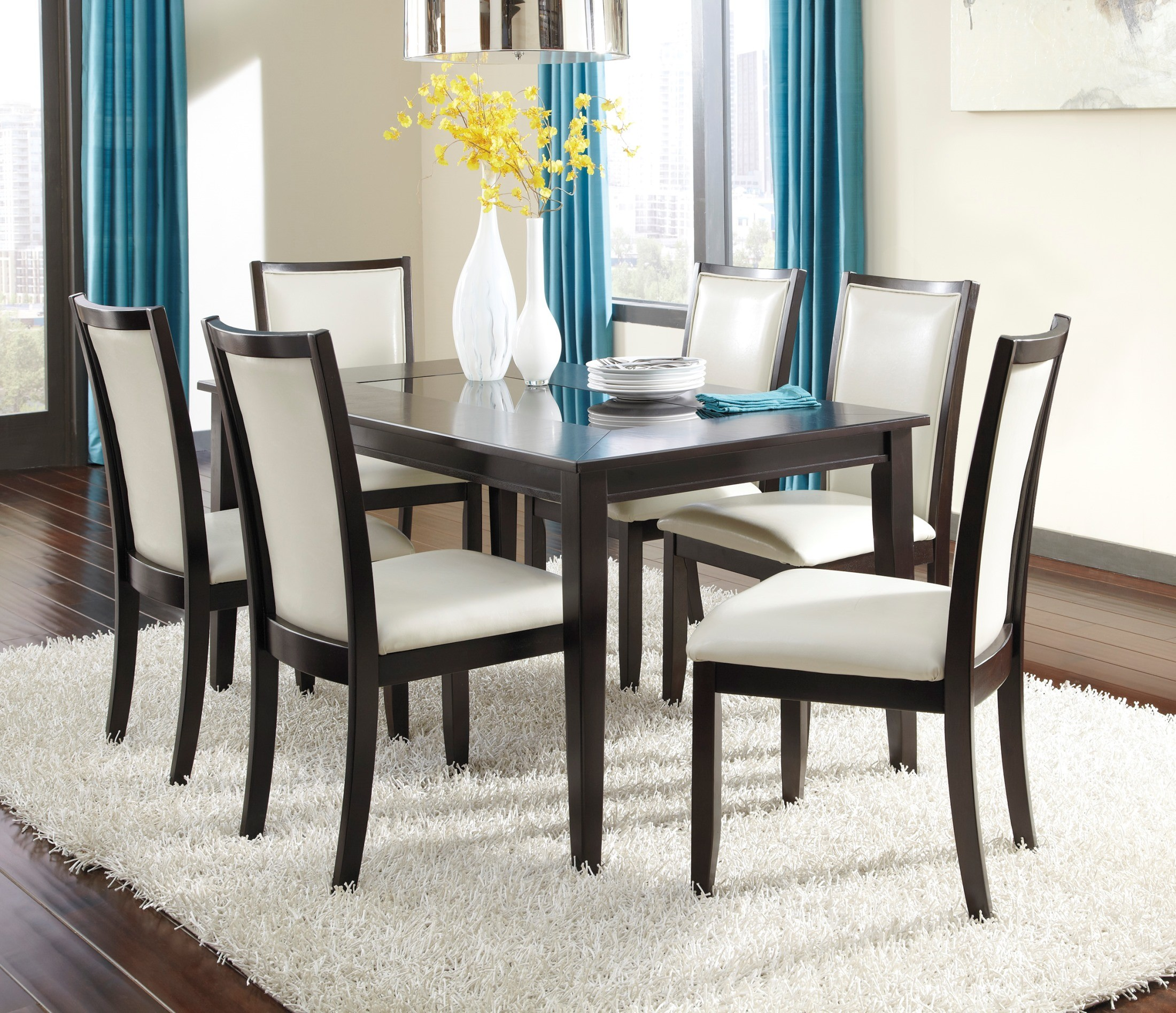 Emejing 4 Piece Dining Room Sets Photos Ltrevents