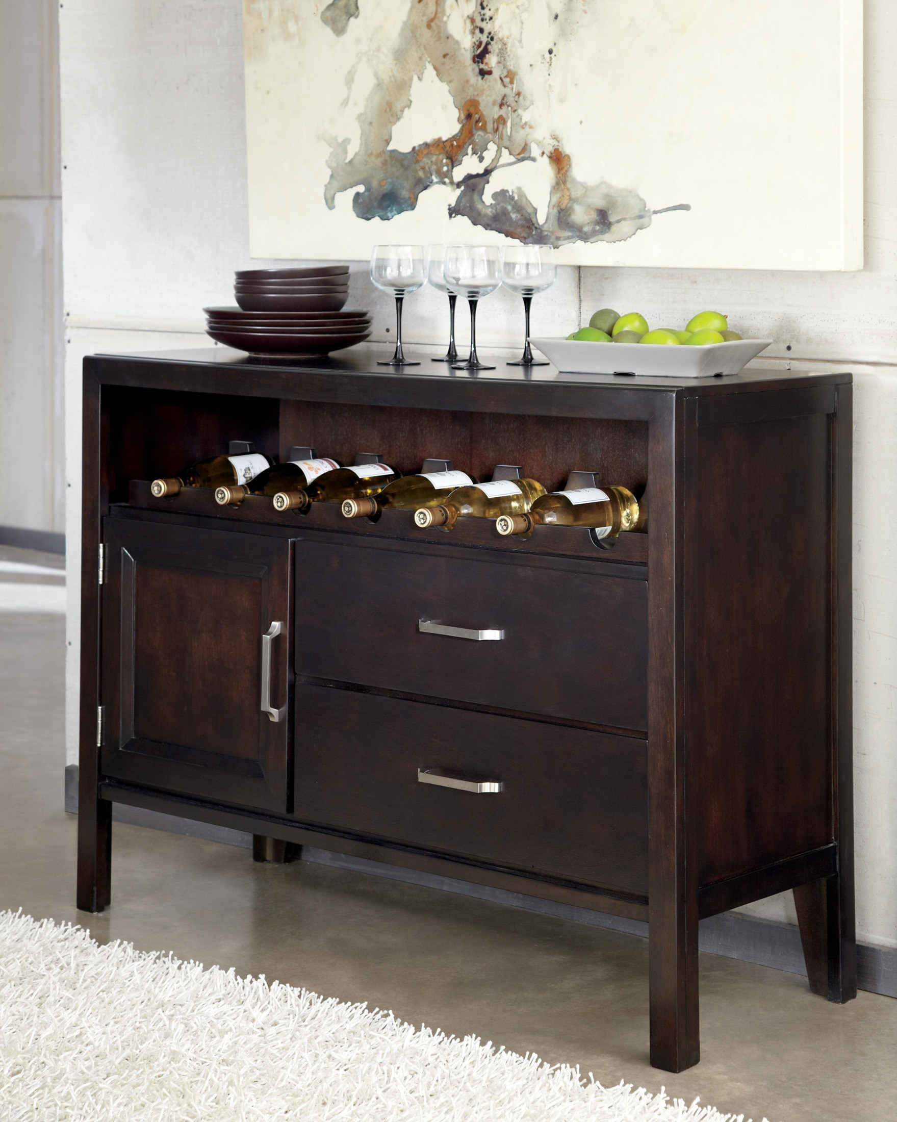 Trishelle Small Dining Room Server from Ashley (D550-59 ...