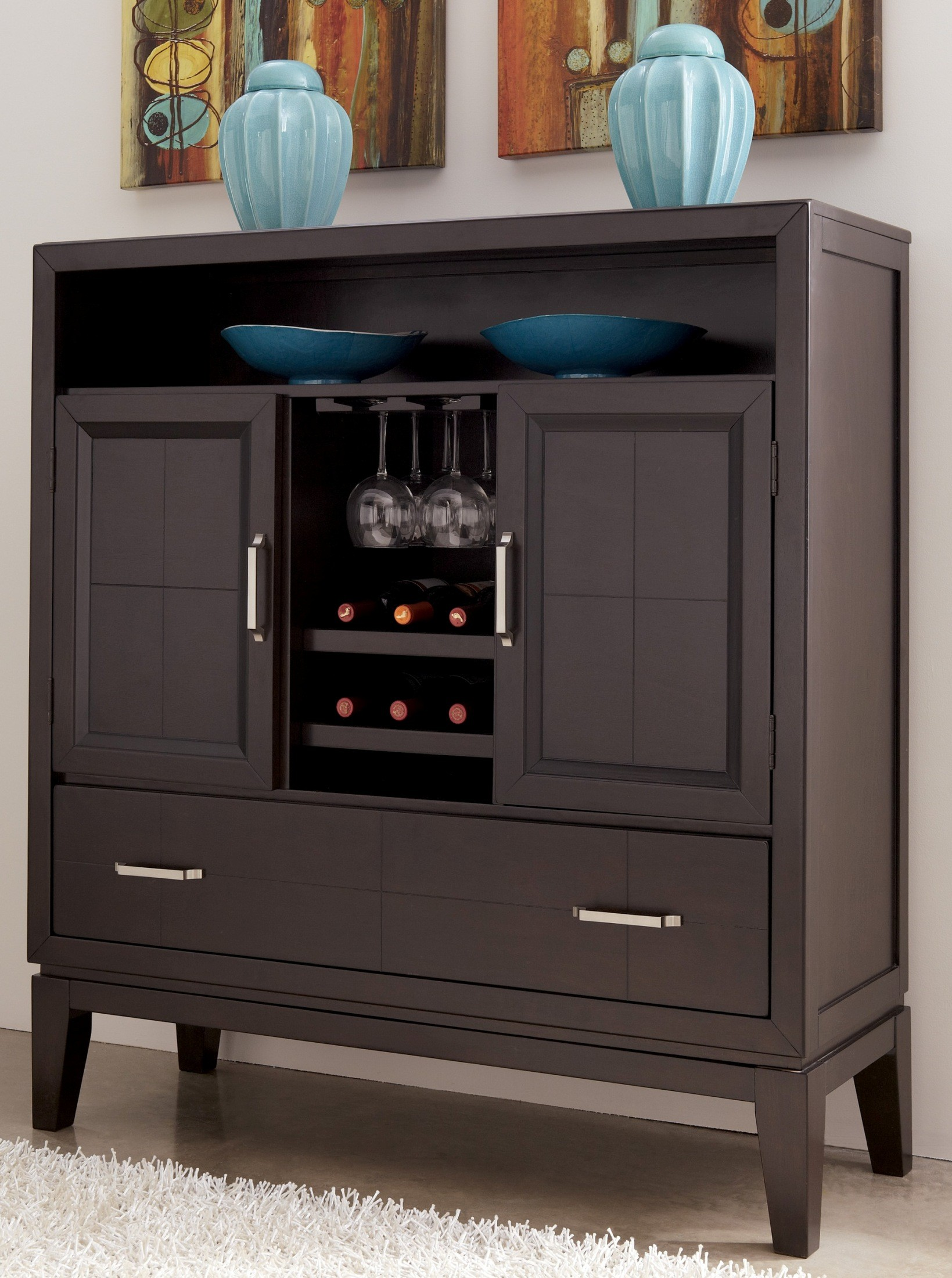 Trishelle Dining Room Server D550 60 Ashley Furniture