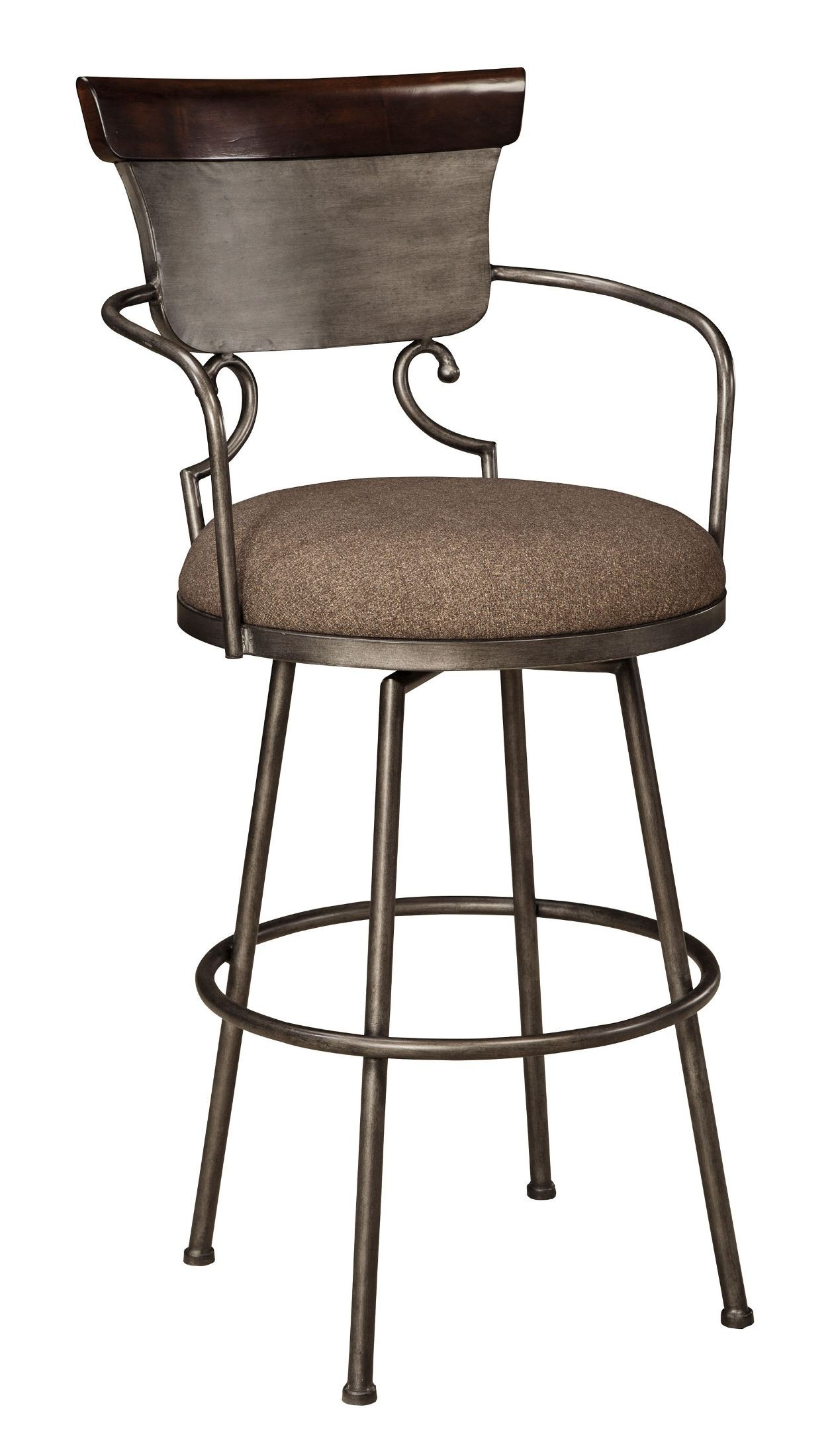 Moriann Tall Upholstered Barstool from Ashley (D608-630 ...