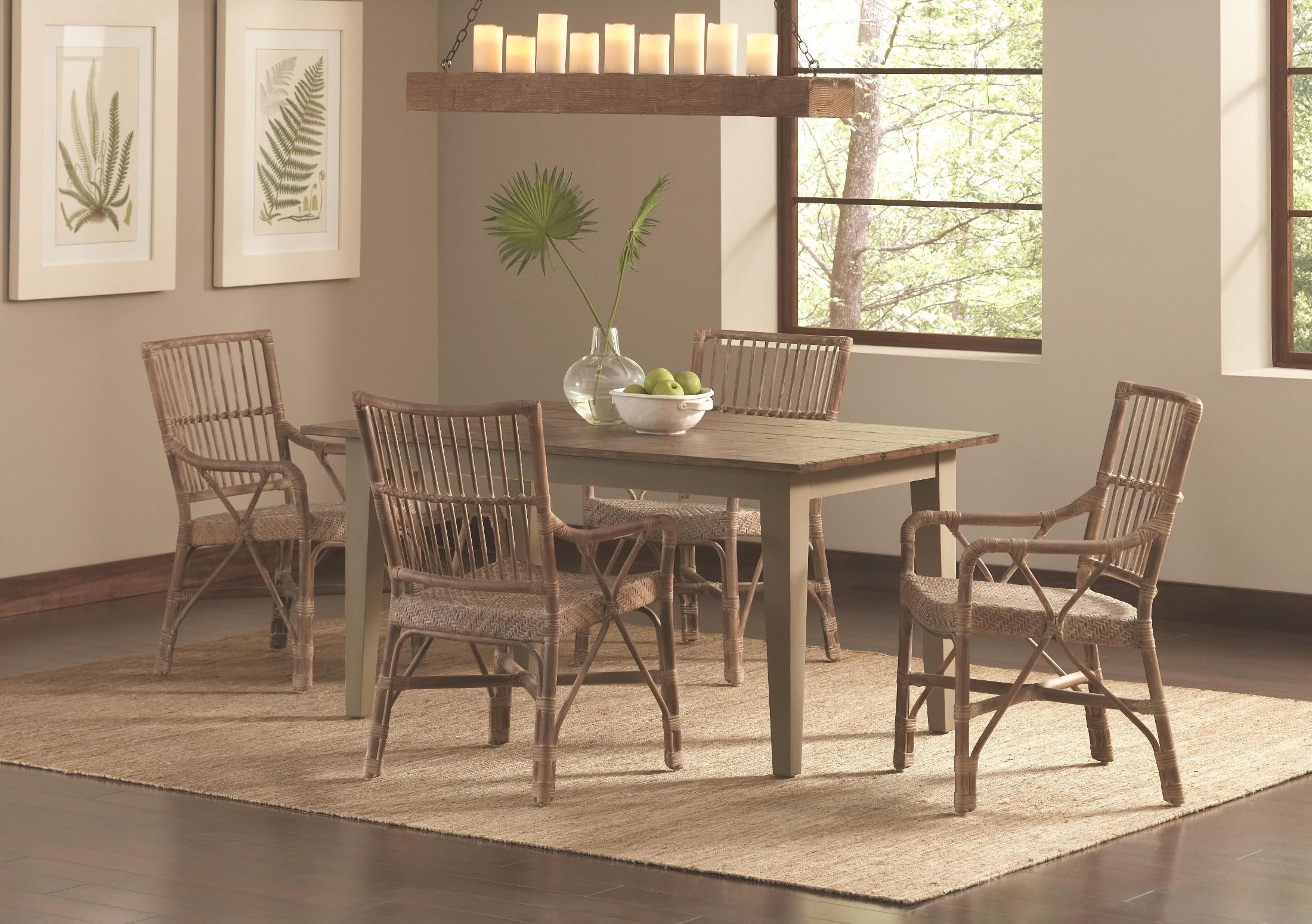 south rectangular dining room set d684 31 largo