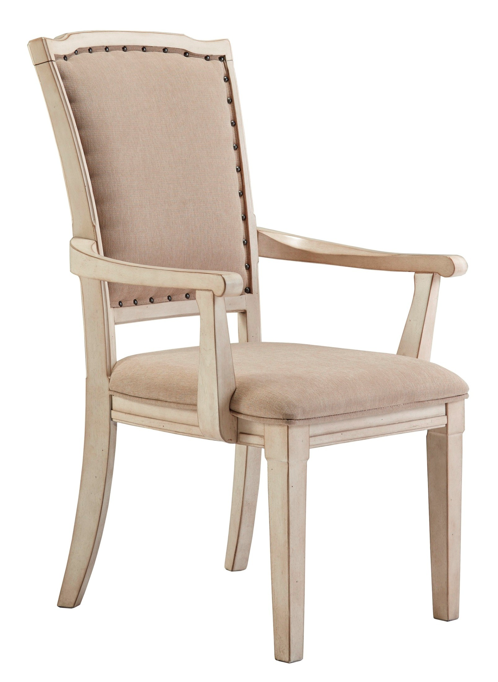 Demarlos Dining Upholstered Arm Chair Set of 2 D693 01A