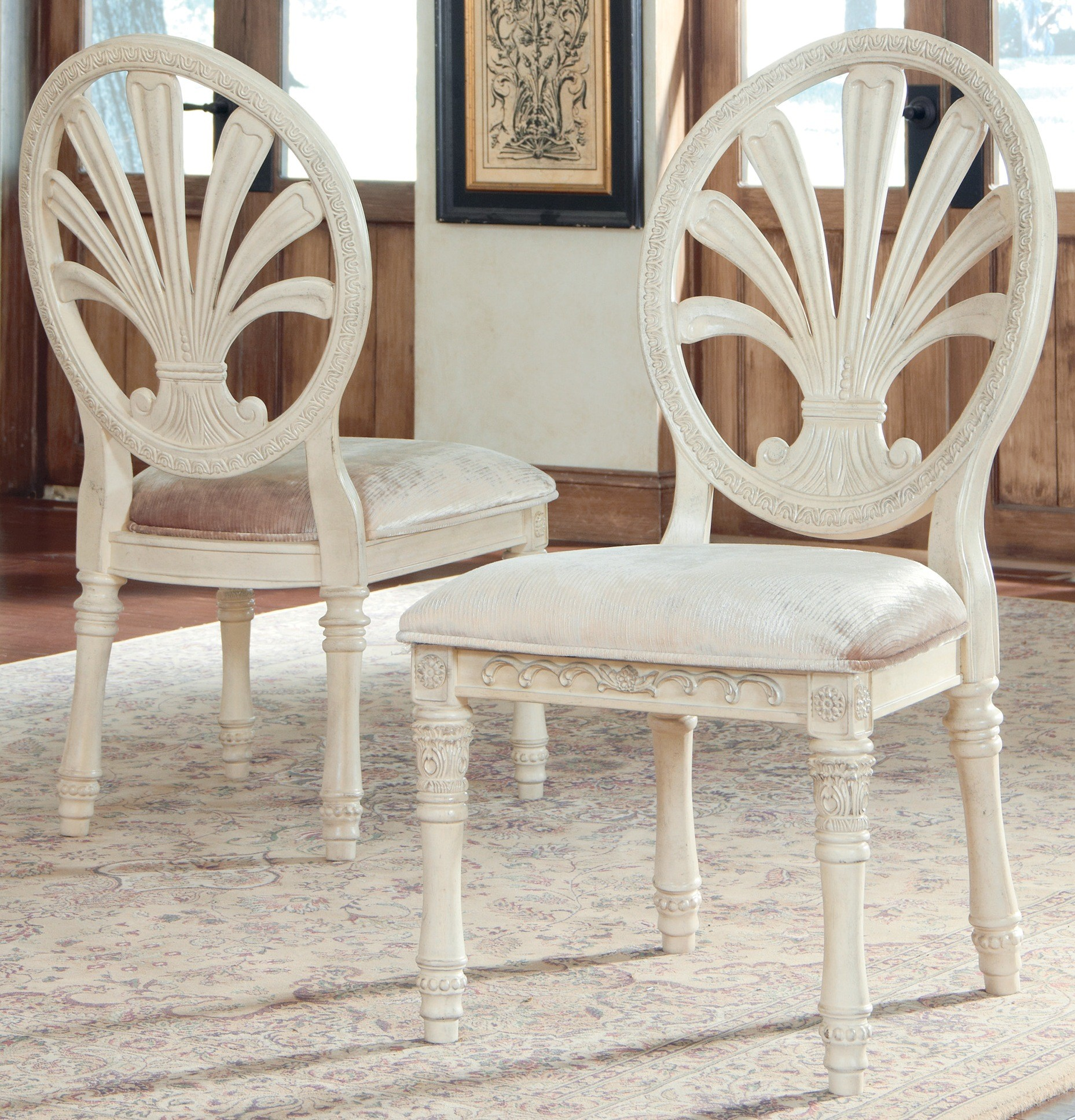 ortanique upholstered side chair set of 2 d707 03