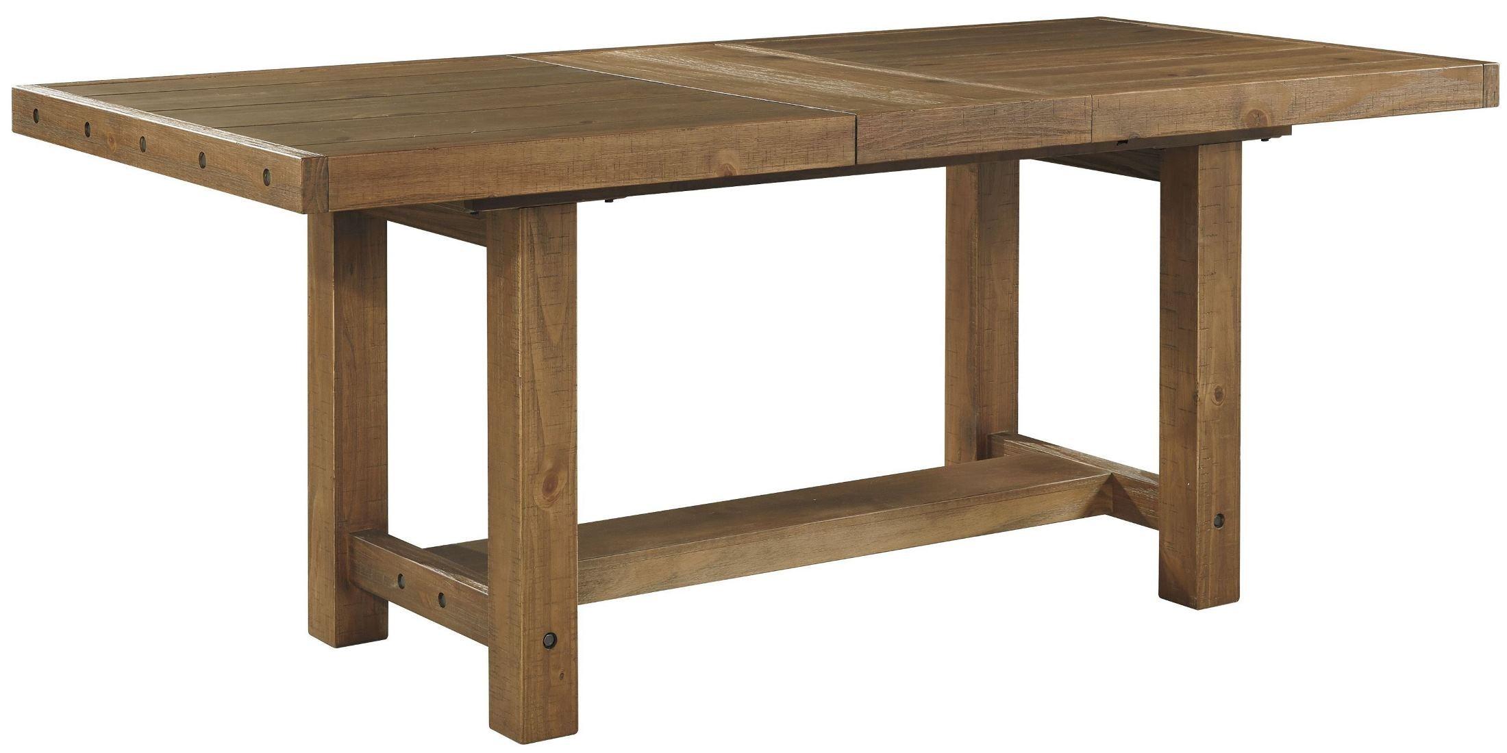 Counter Height Rectangular Dining Set : ... Rectangular Extendable Counter Height Dining Room Set, D714-32, Ashley