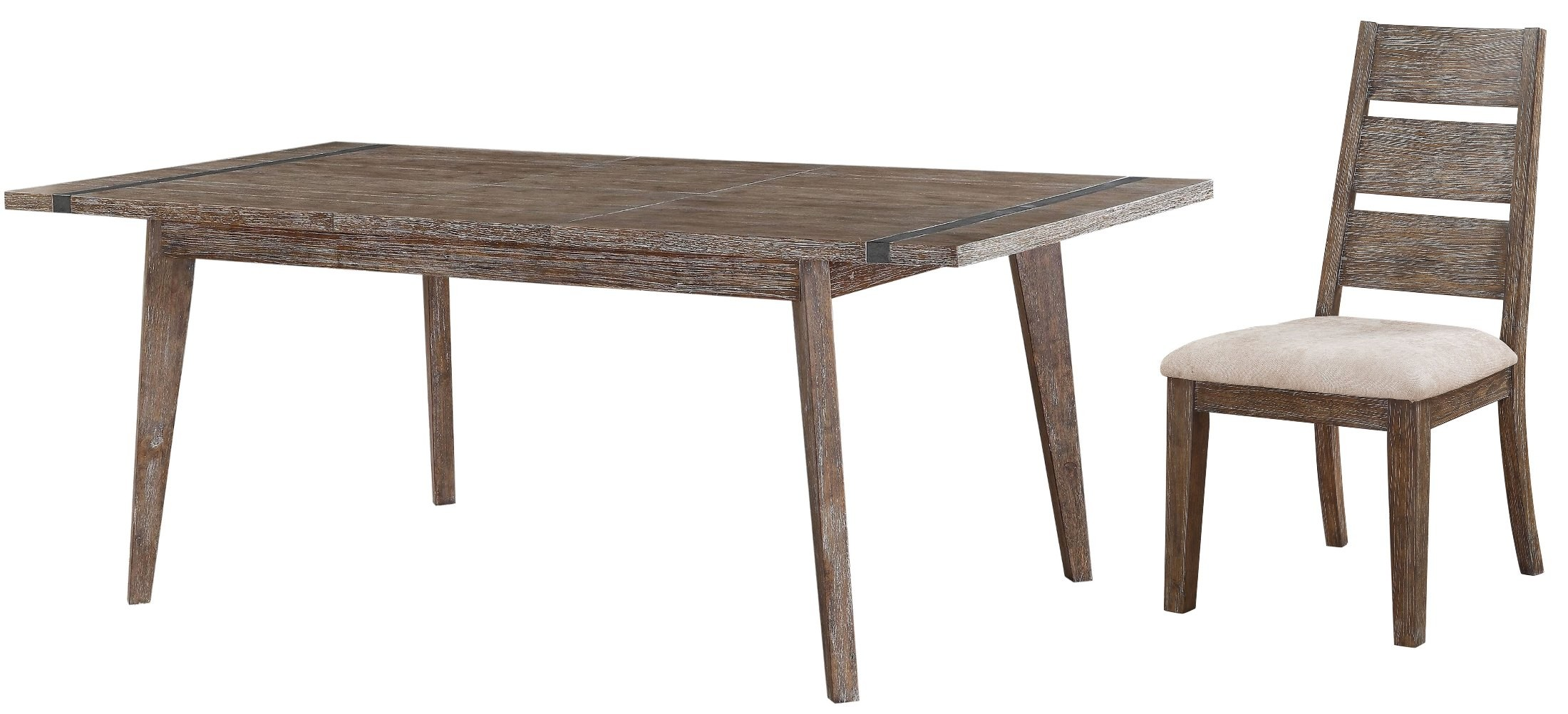 Viewpoint rustic butterfly leaf extendable dining table for White dining table with leaf