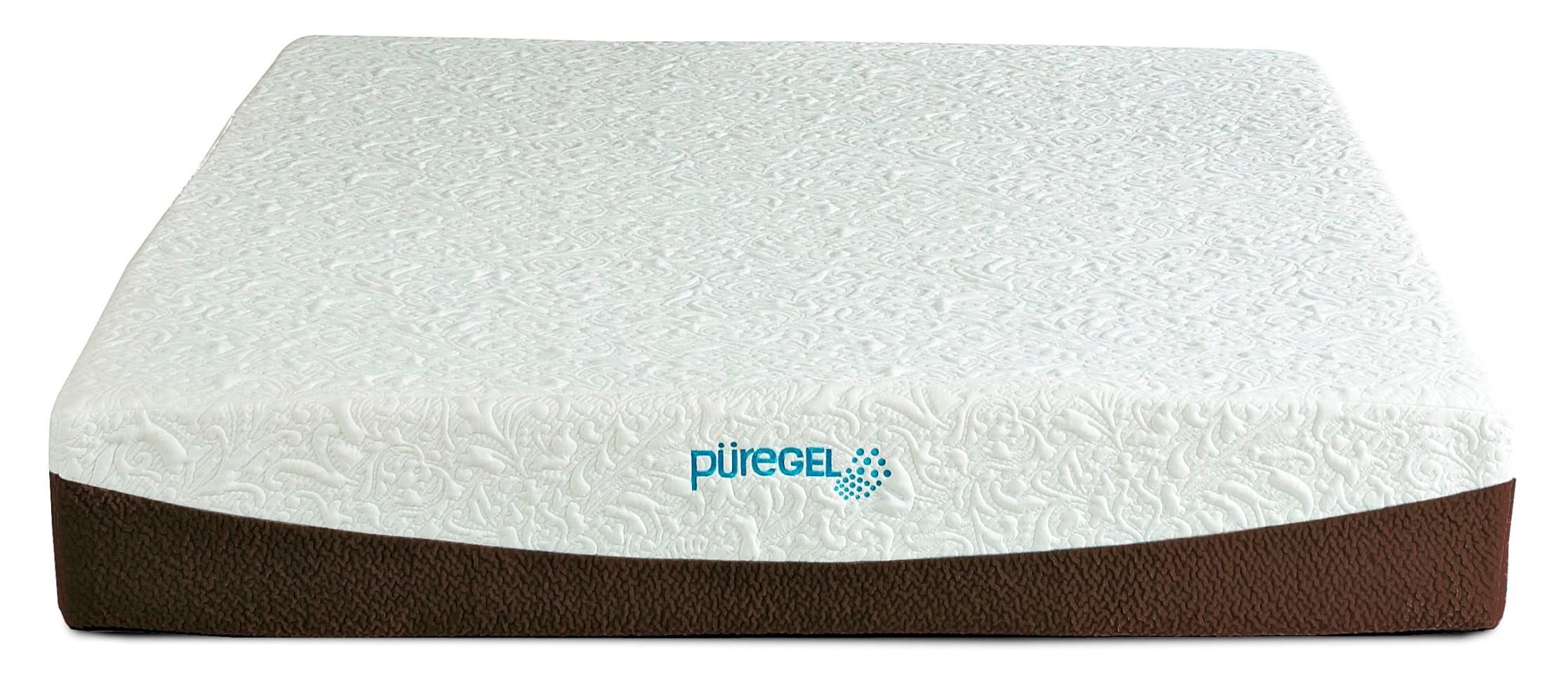Denali 10 Memory Foam Queen Size Mattress From Klaussner Denaliqqmat Coleman Furniture