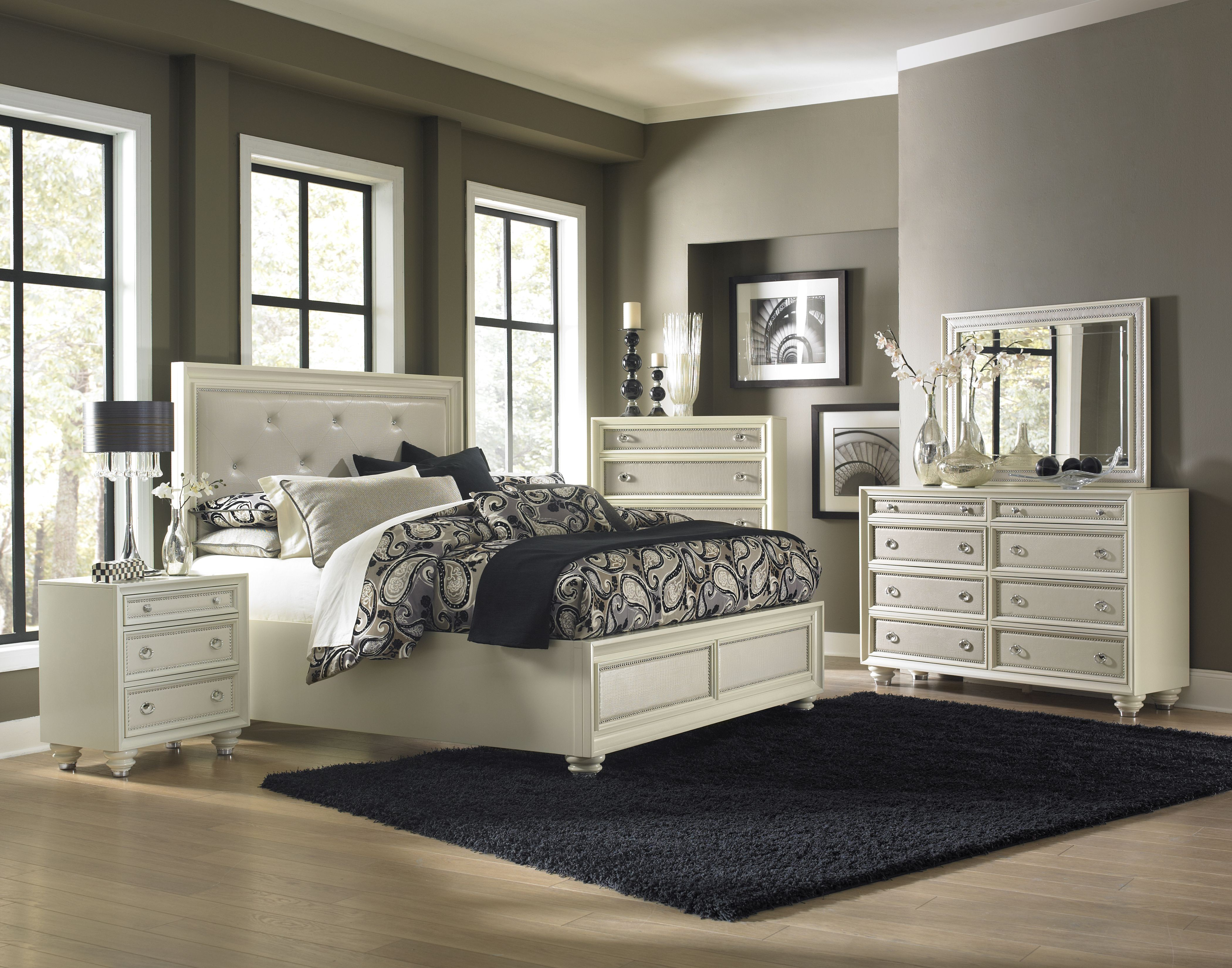 Magnussen Harrison Bedroom Furniture Diamond Island Bedroom Set From Magnussen Home B2344 50h 50f 50r