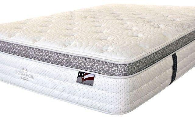 """Alyssum I 14"""" King Euro Pillow Top Mattress DM155EK M"""
