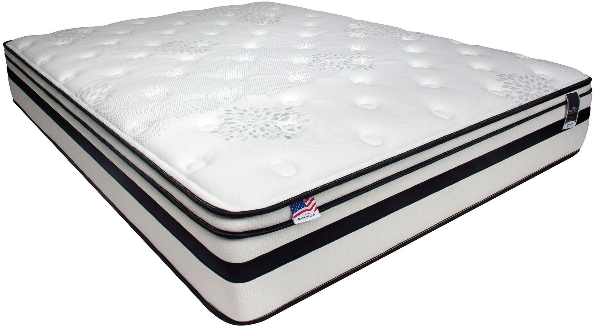 Fairen 12 Euro Pillow Top King Mattress Dm145ek M Furniture Of America
