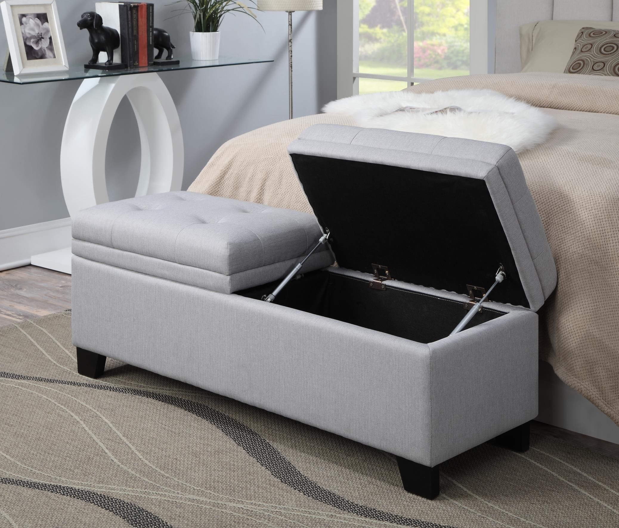 Trespass Marmor Upholstered Storage Bed Bench From Pulaski Ds 2281 683 Coleman Furniture
