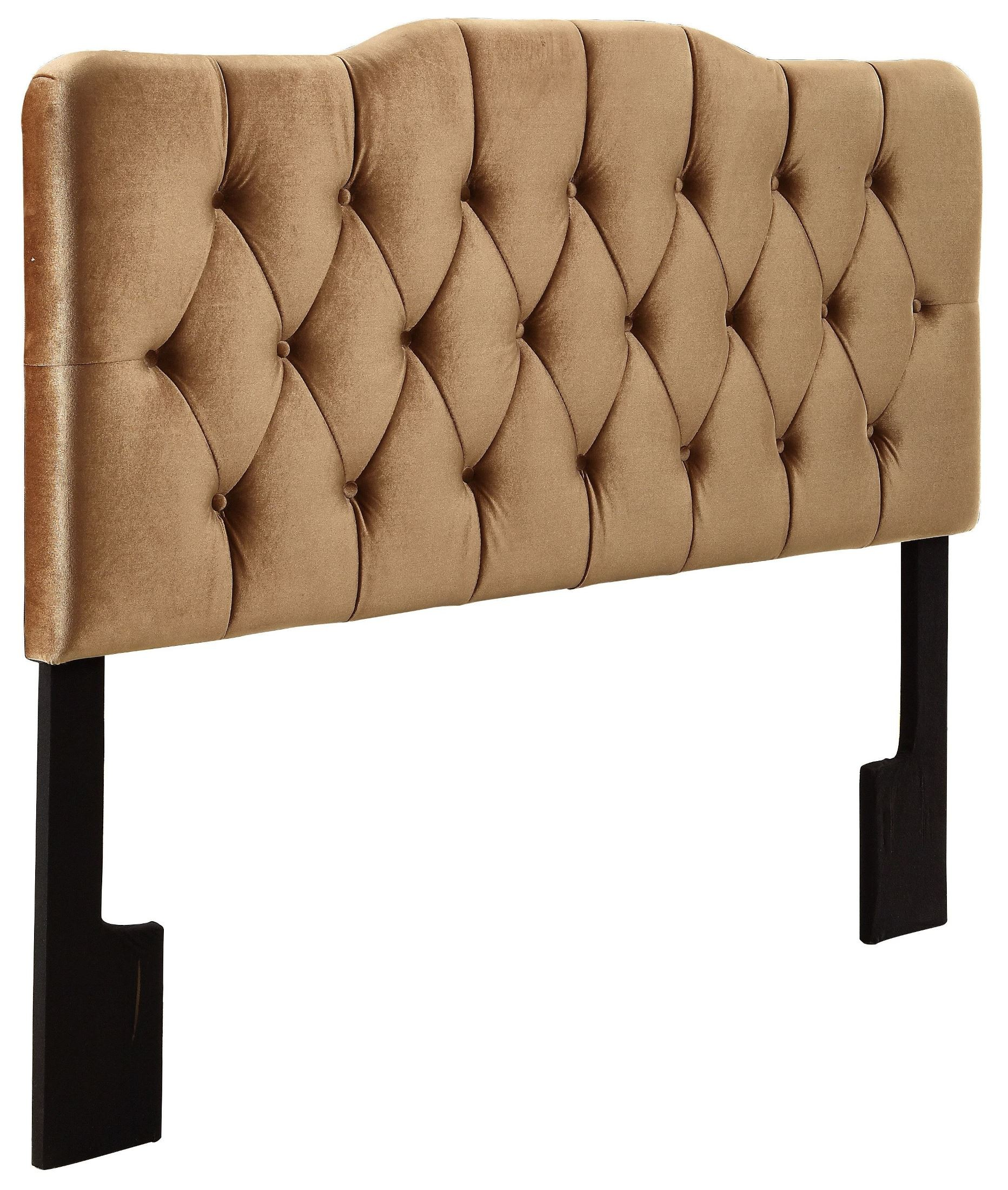 upholstered velvet headboard