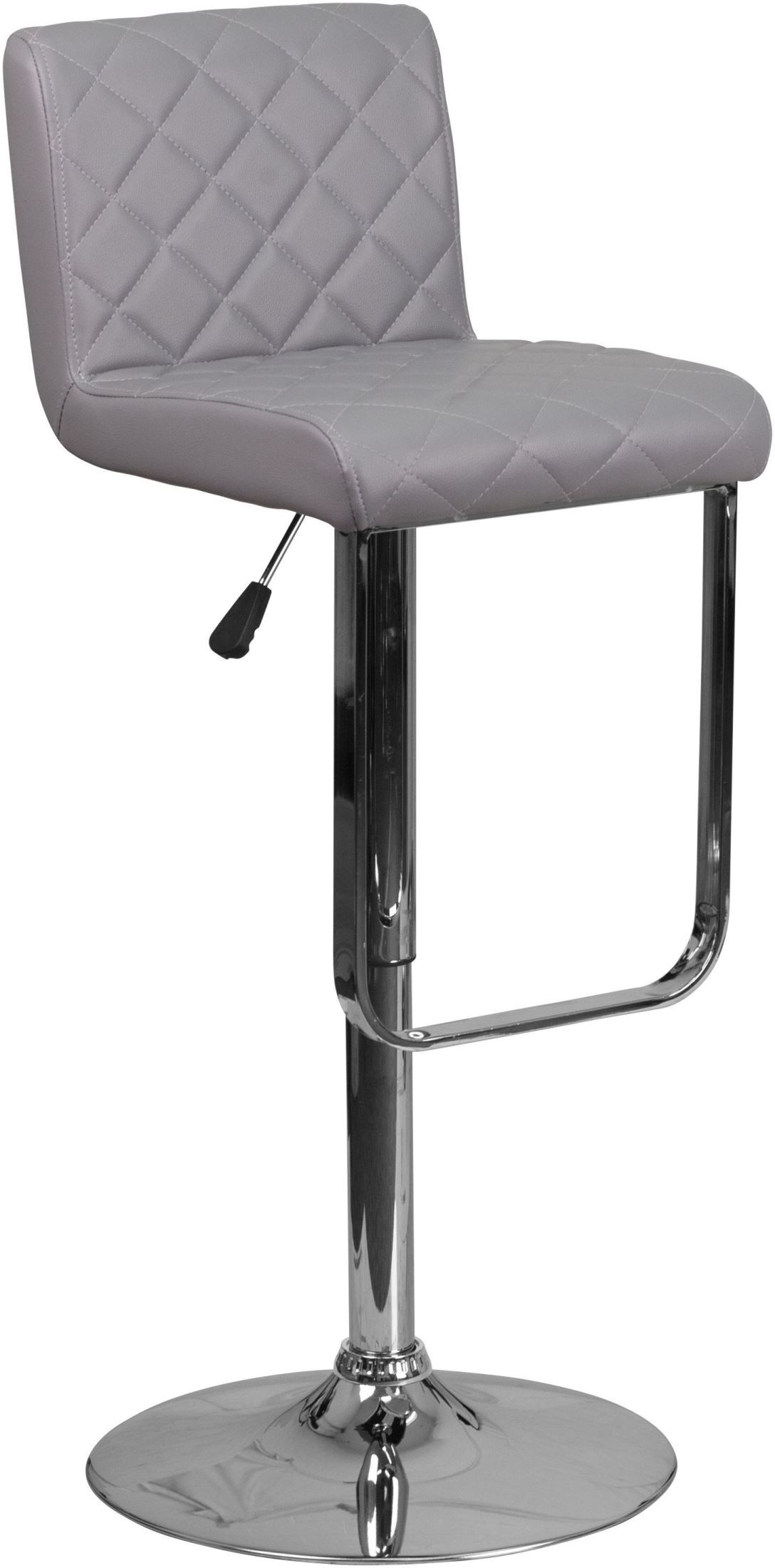 Mid Back Gray Vinyl Upholstery Adjustable Height Bar Stool  : ds 8101 gy gg from colemanfurniture.com size 1088 x 2200 jpeg 173kB
