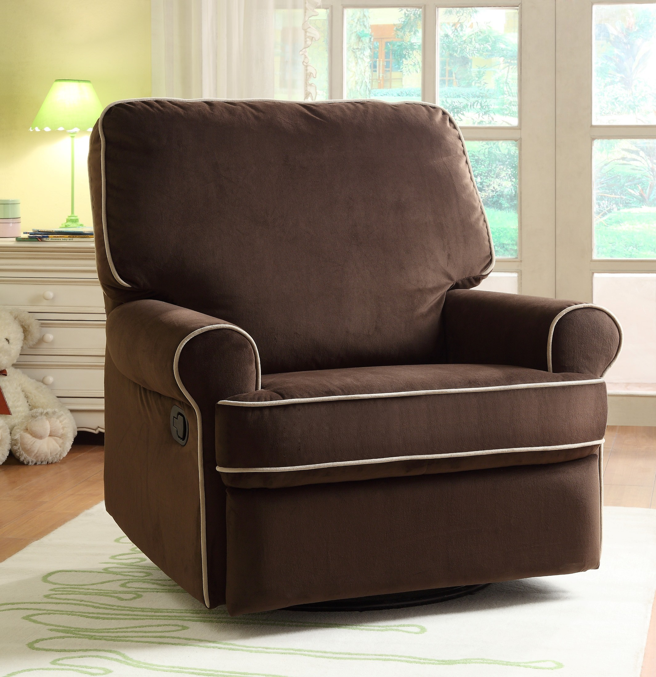 Birch Hill Stella Doe Swivel Glider Recliner From Pulaski