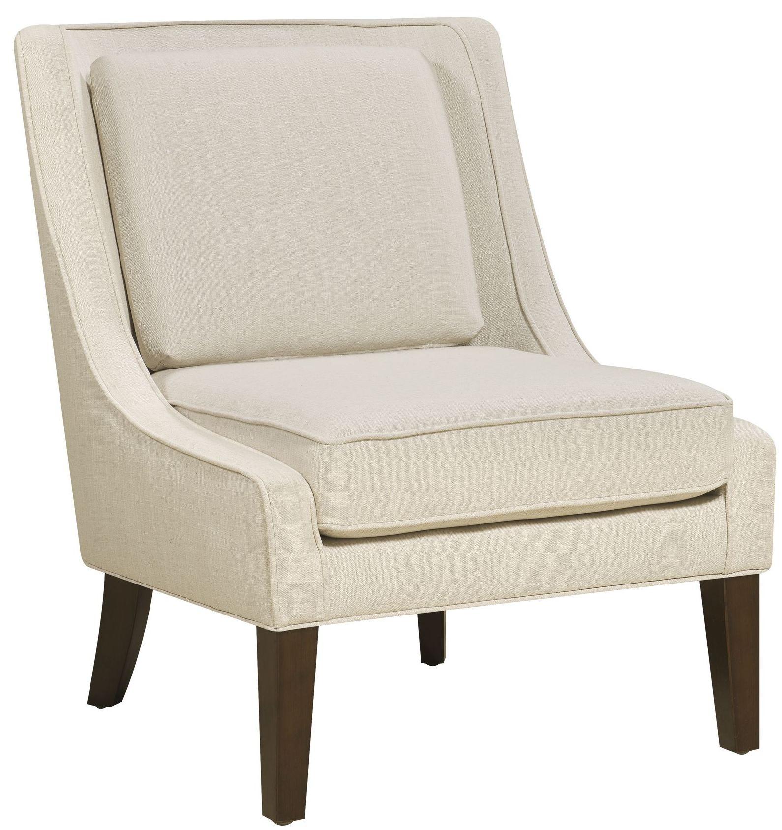 Celine Flour Linen Accent Chair DS A148 900 386 Pulaski