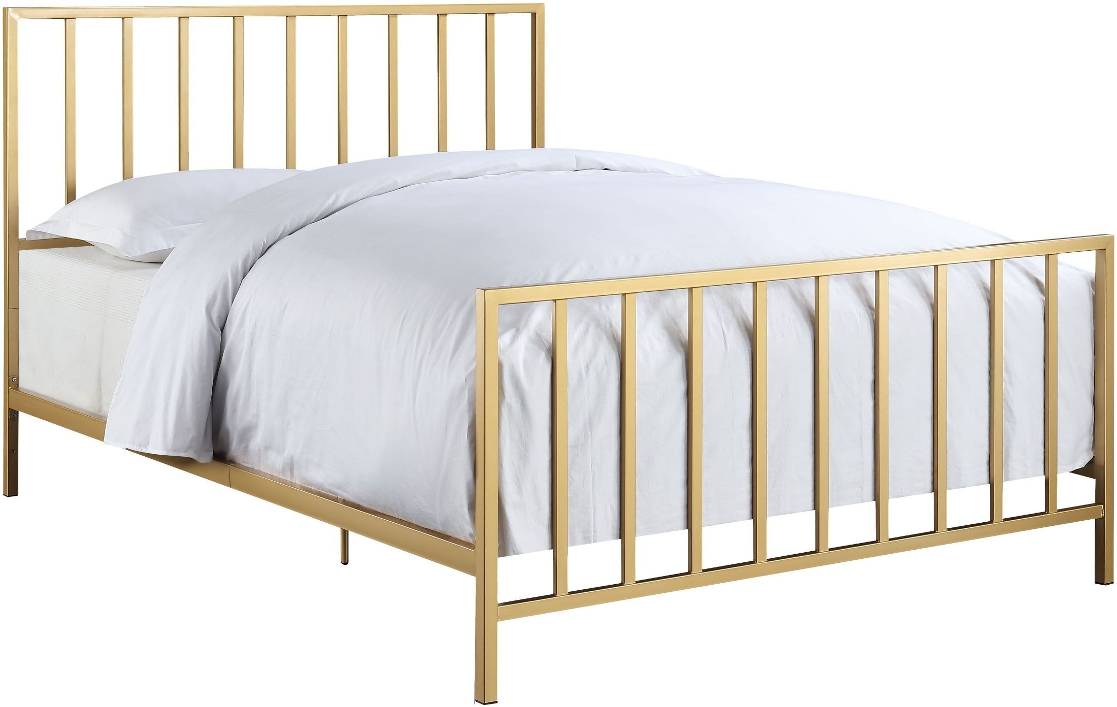 S Queen Bed With Metal
