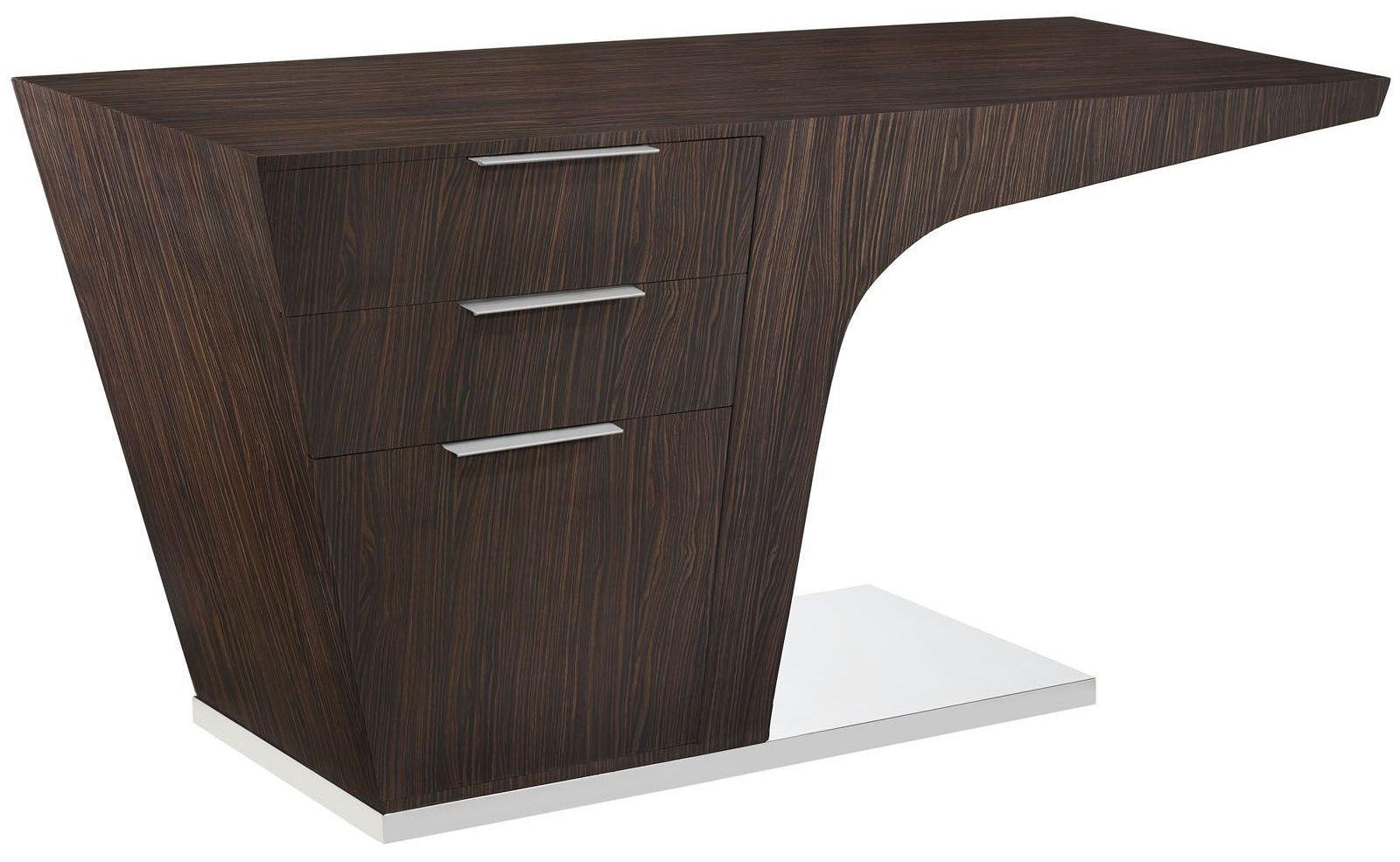 Warp walnut office desk from renegade eei 1188 coleman - Walnut office desk ...