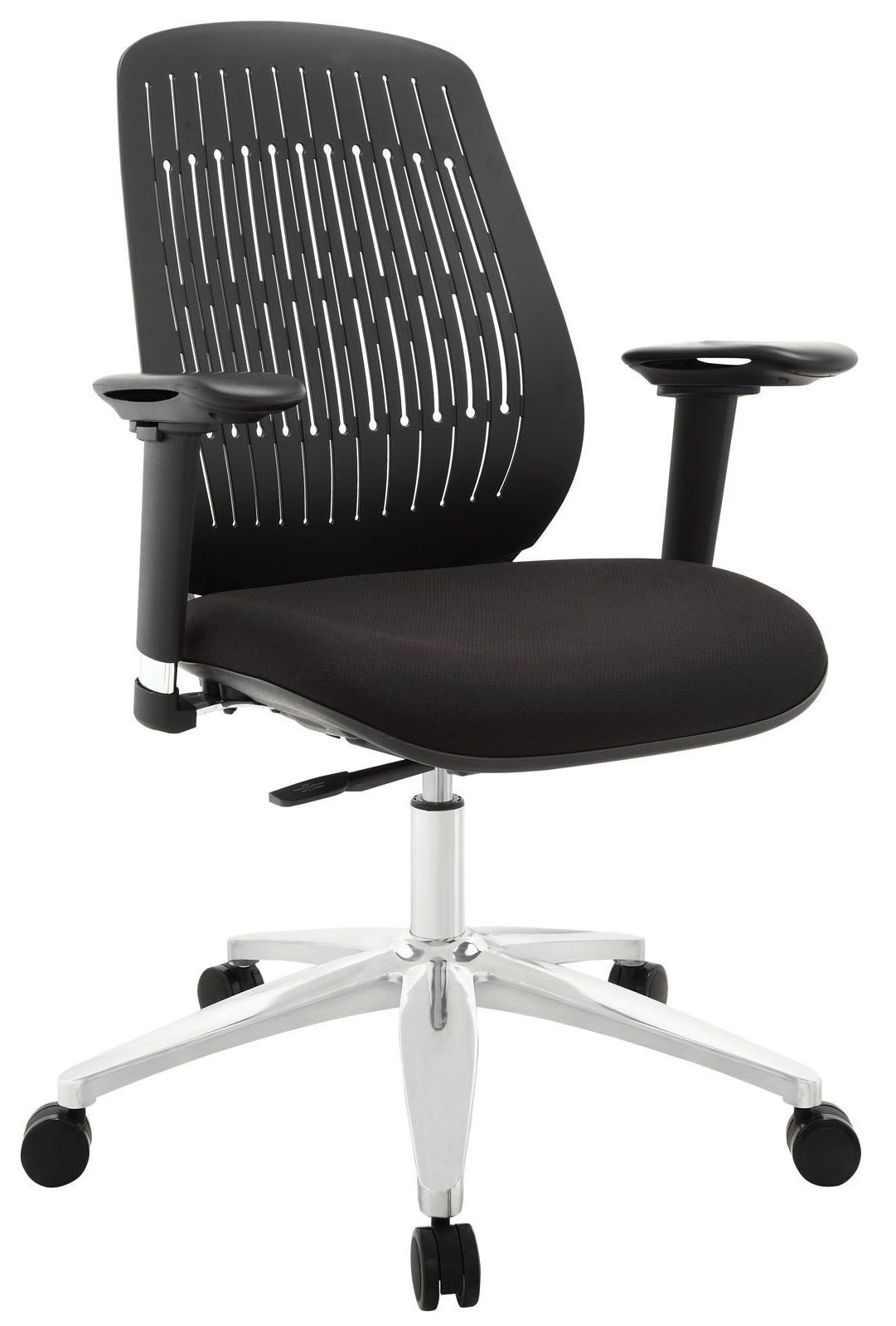 reveal black premium office chair from renegade eei 1189