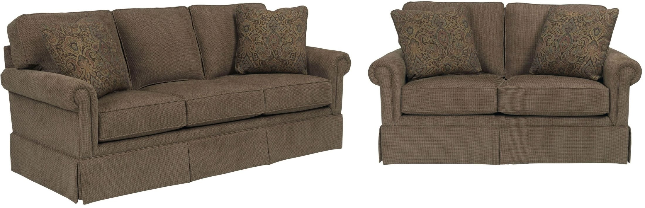 Audrey Chenille Fabric Living Room Set From Broyhill 3762 3q2 8595 85 Coleman Furniture