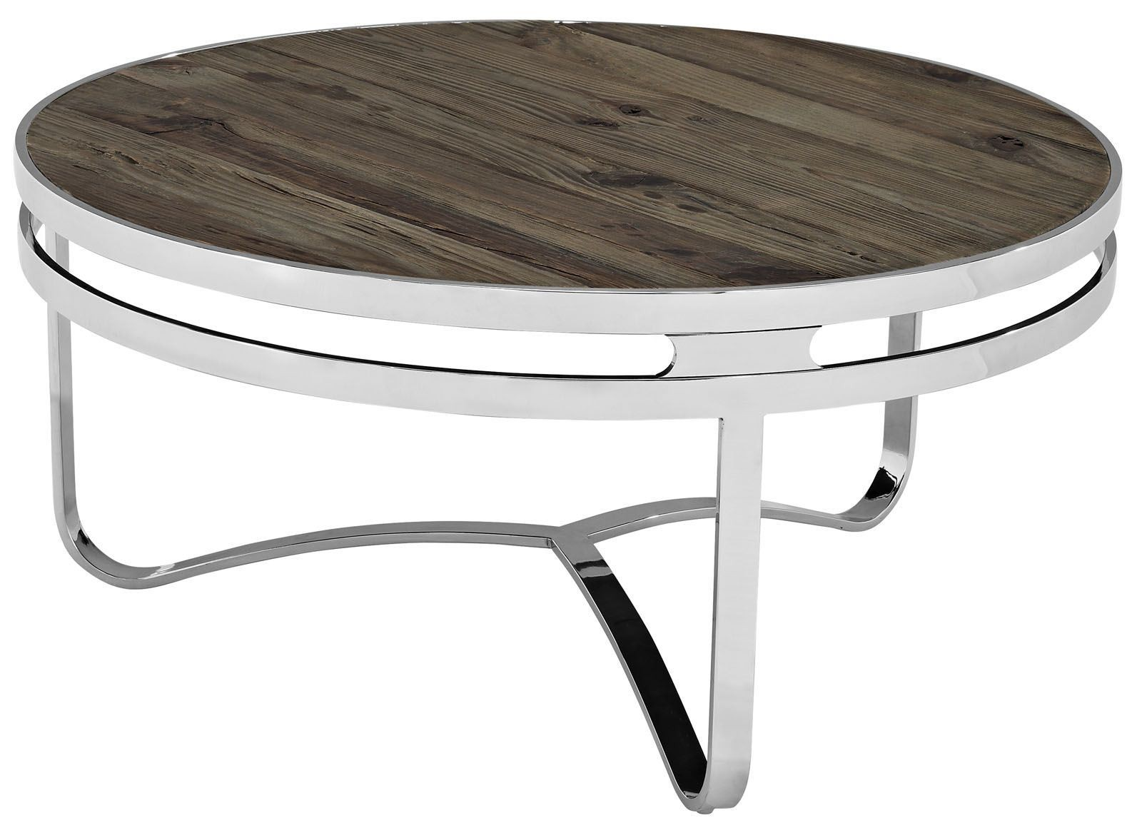 Provision Brown Wood Top Coffee Table From Renegade Eei