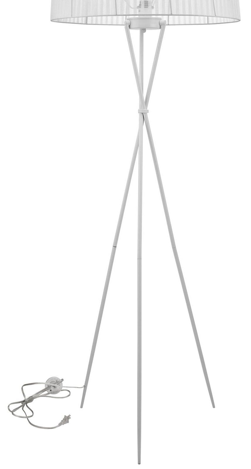 Twigs white floor lamp from renegade eei 1223 coleman for Twig floor lamp white