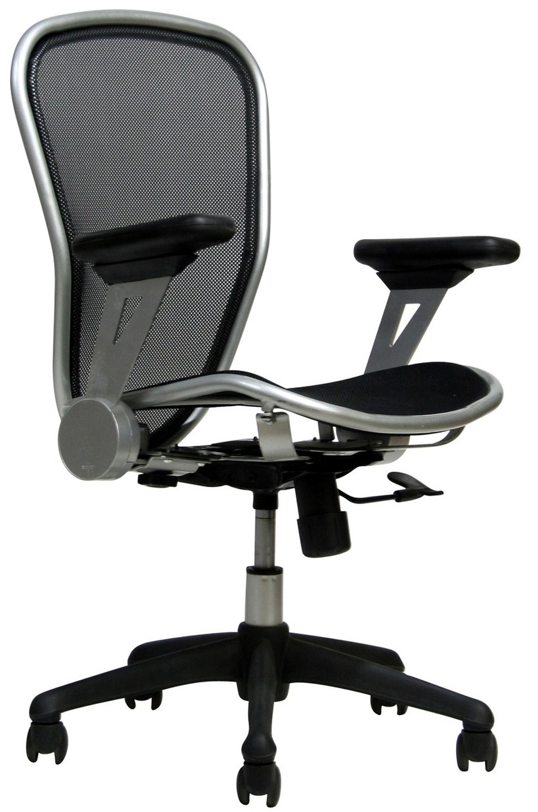headrest office chair in silver frame eei 135 slv indoor furniture