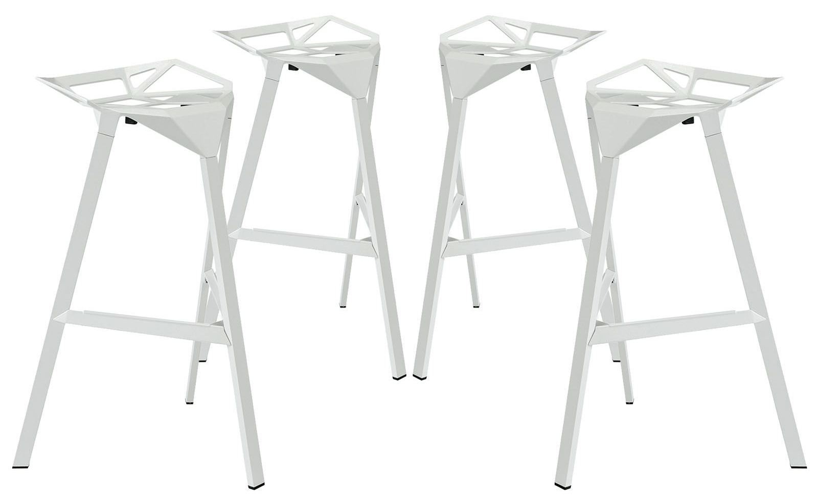 Launch White Stacking Bar Stool Set of 4 from Renegade  : eei 1363 whi from colemanfurniture.com size 1600 x 979 jpeg 85kB